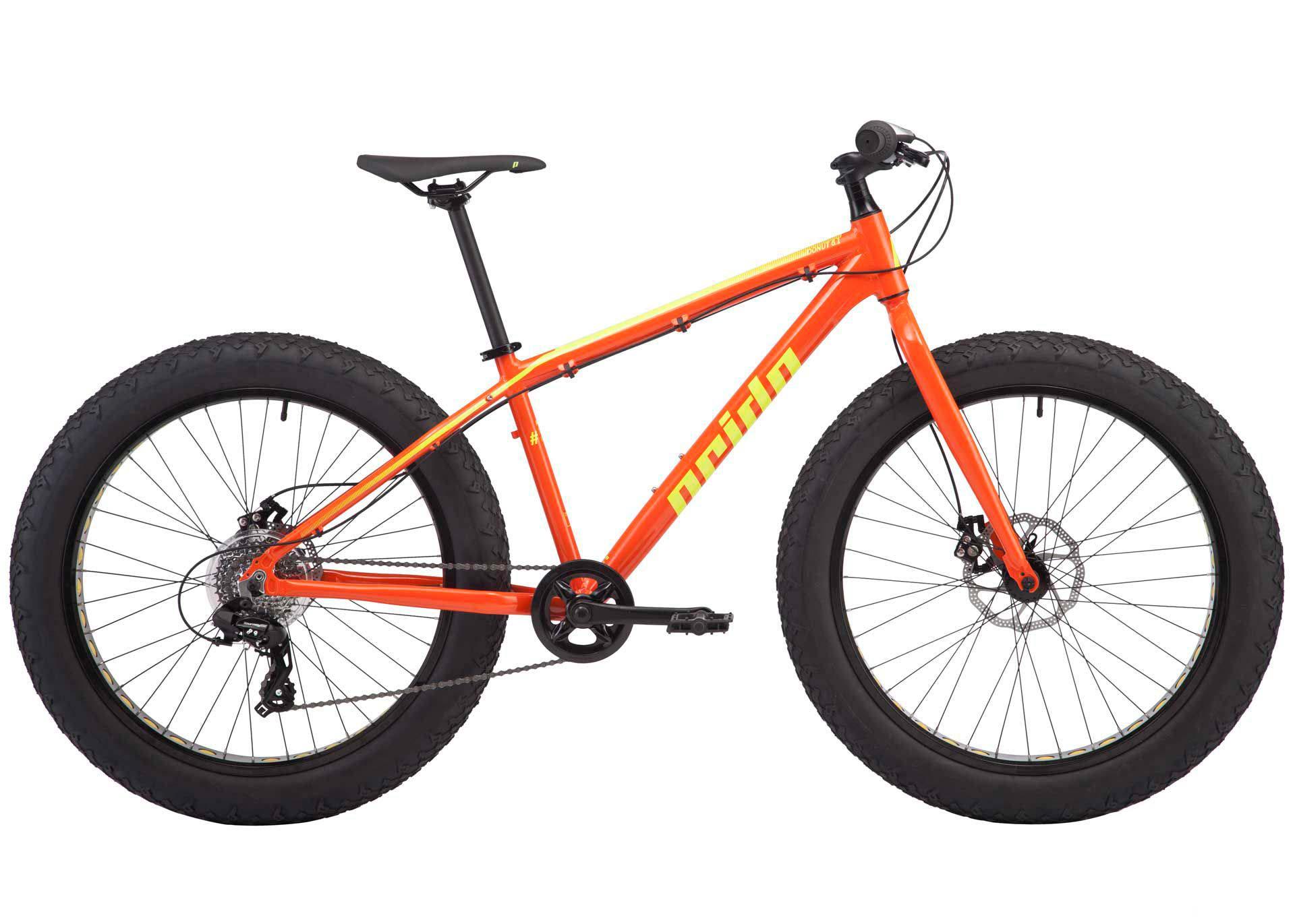 Велосипед 26 Pride Donut 6.1 рама - XL оранж/желтый 2018