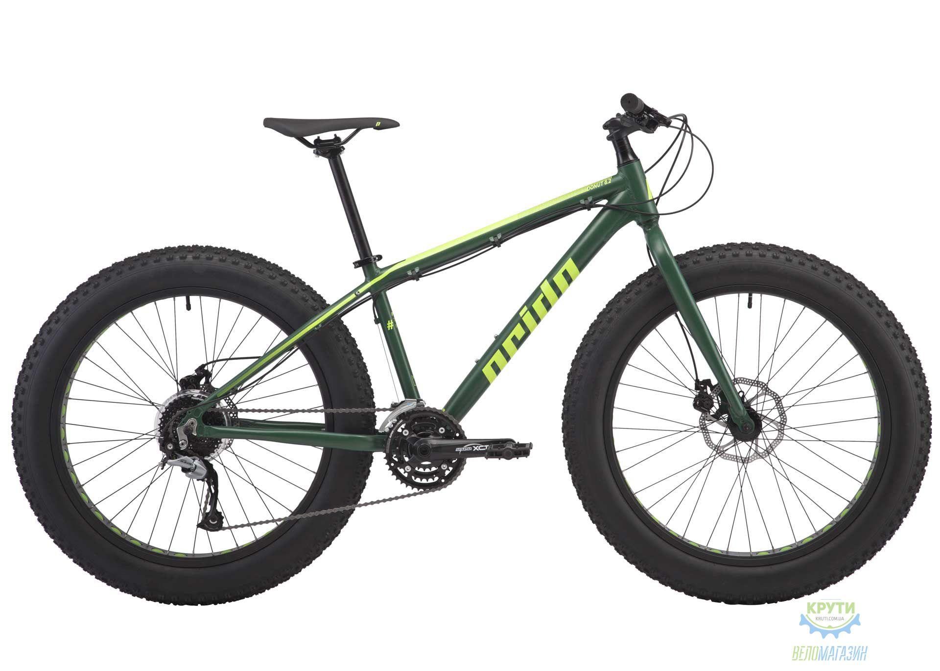 Велосипед 26 Pride Donut 6.2 рама - M хаки/желтый 2018