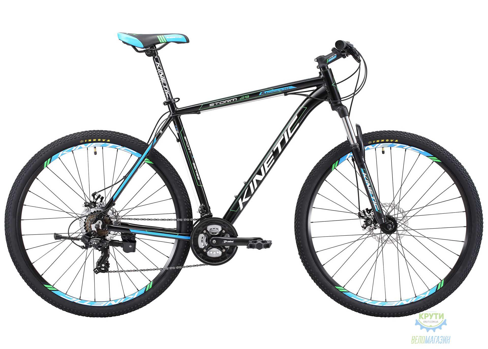 Велосипед 29 Kinetic Storm Рама - 22 Черно-Синий 2018