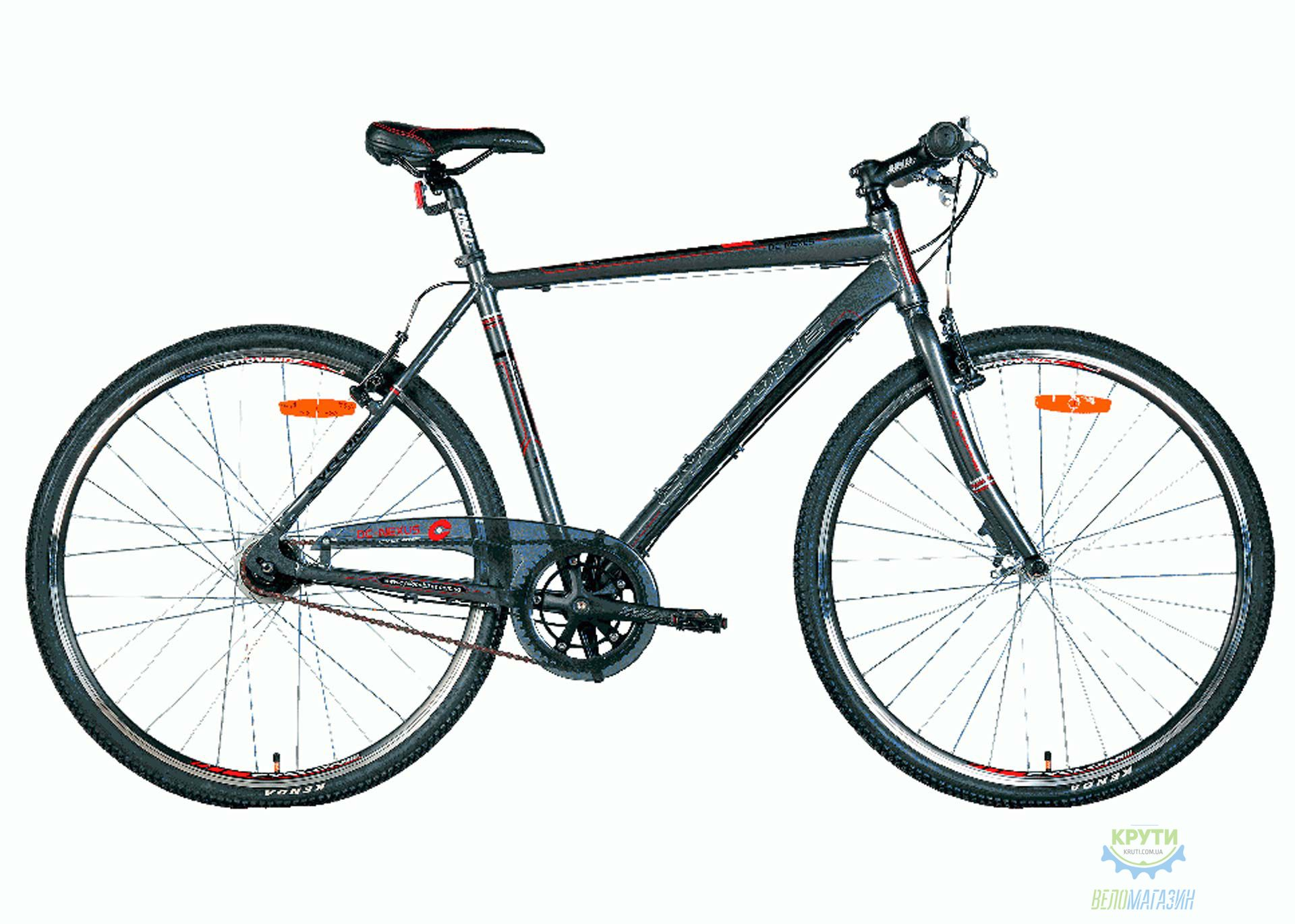 Велосипед 28 Cyclone DC - Nexus Рама - 21 8-Spd Серый  2016