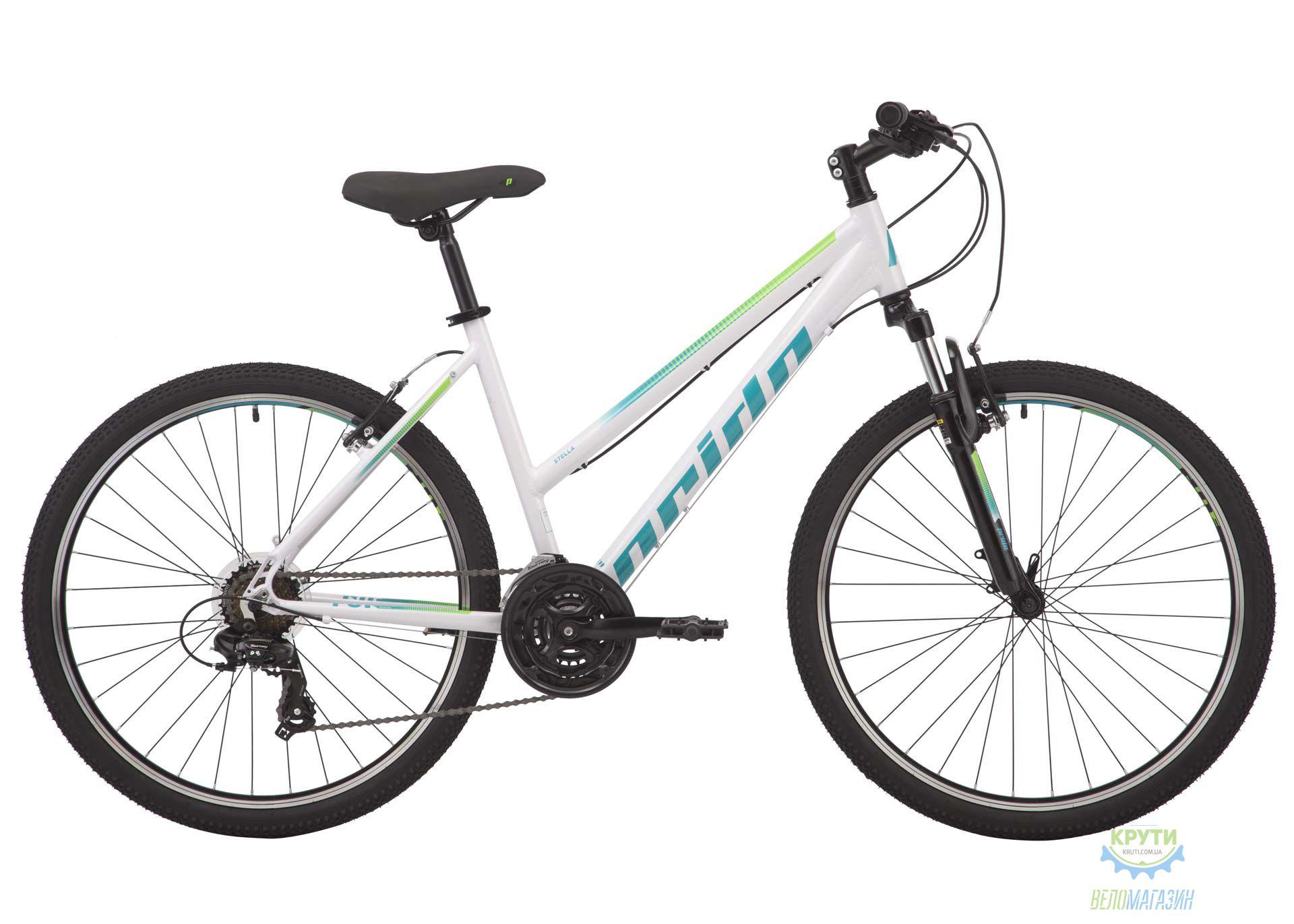 Велосипед 26 Pride Stella 6.1 рама - M белый 2018