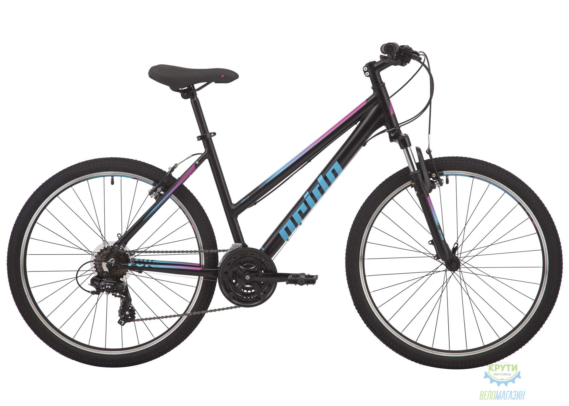 Велосипед 26 Pride Stella 6.1 рама - M черный 2018