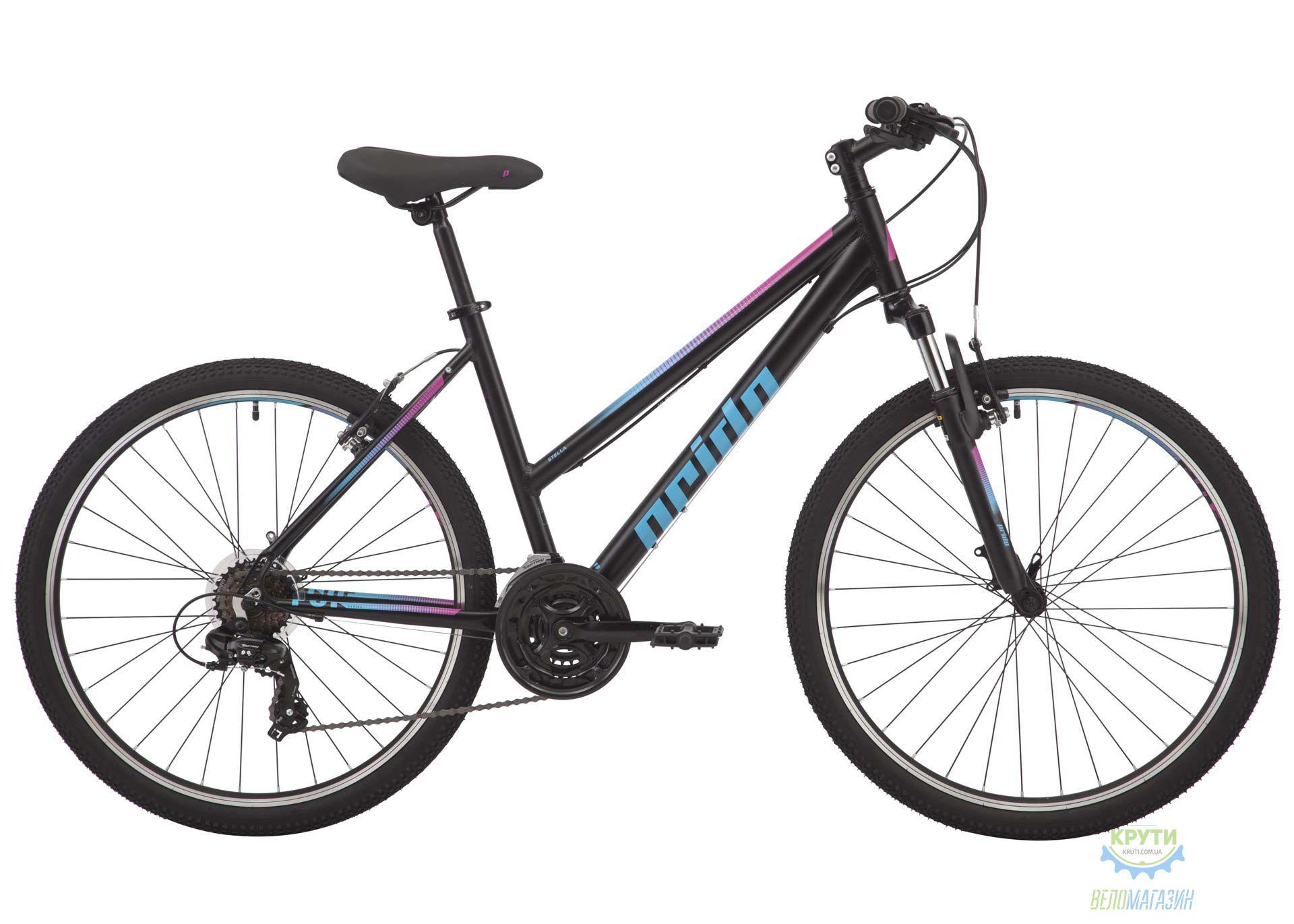 Велосипед 26 Pride Stella 6.1 рама - XS черный 2018
