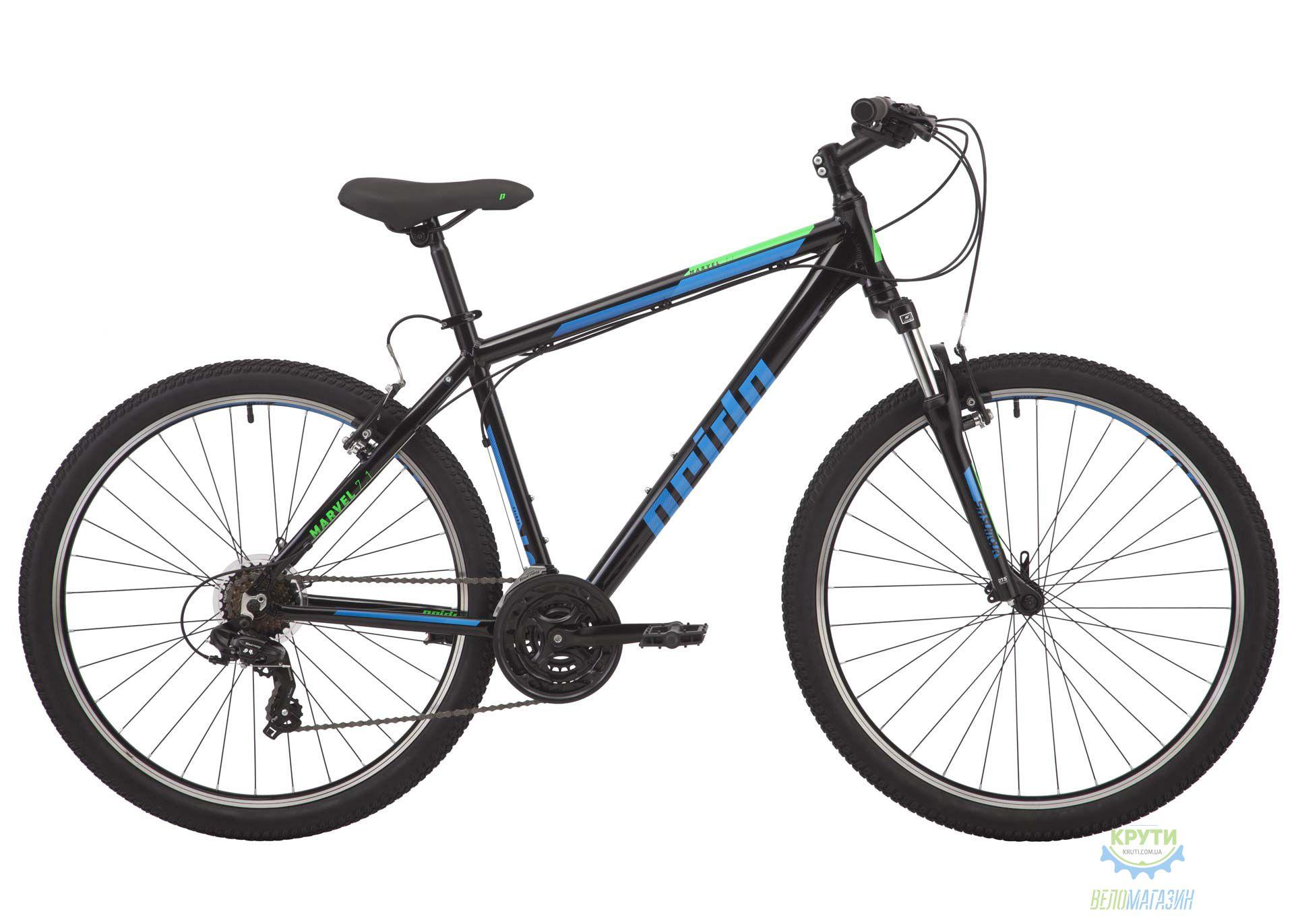 Велосипед 27,5 Pride Marvel 7.1 рама - L черный 2018