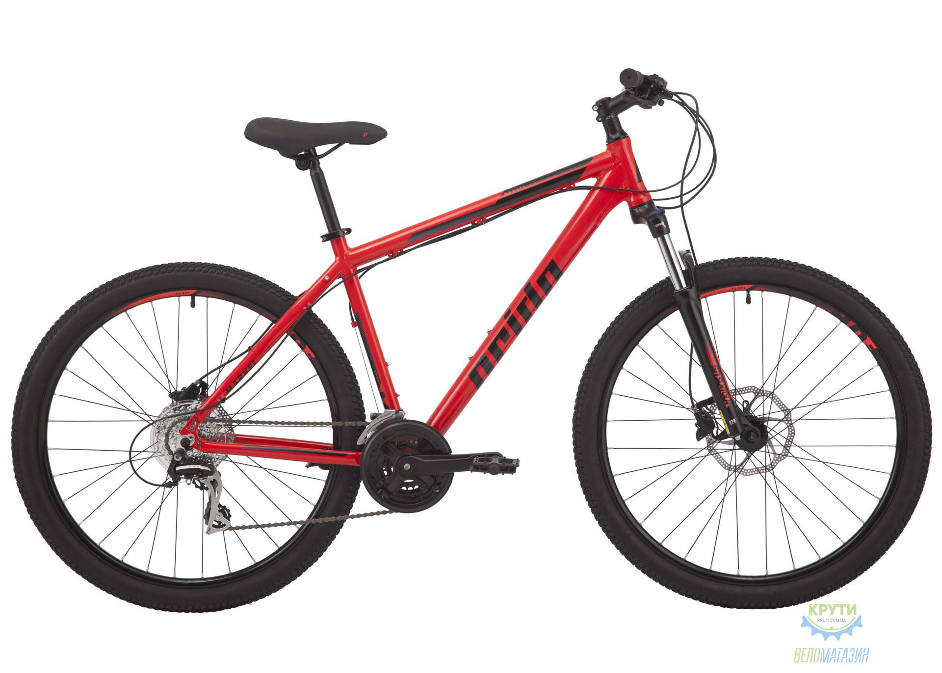 Велосипед 27,5 Pride Marvel 7.3 рама - M красный 2018