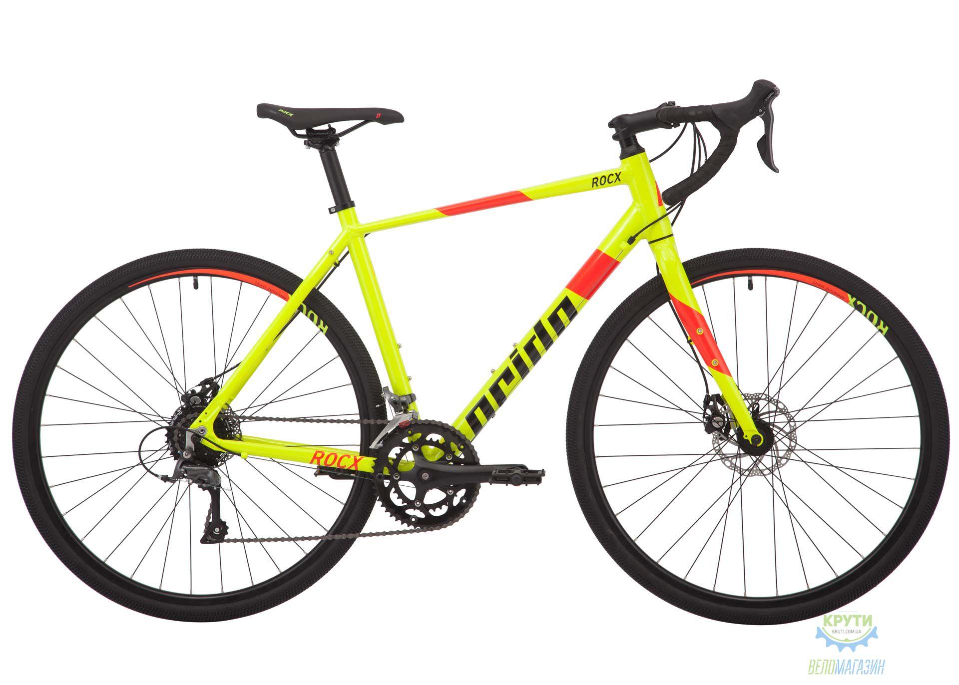 Велосипед 28 Pride RoCX 8.1 рама - L лайм 2018