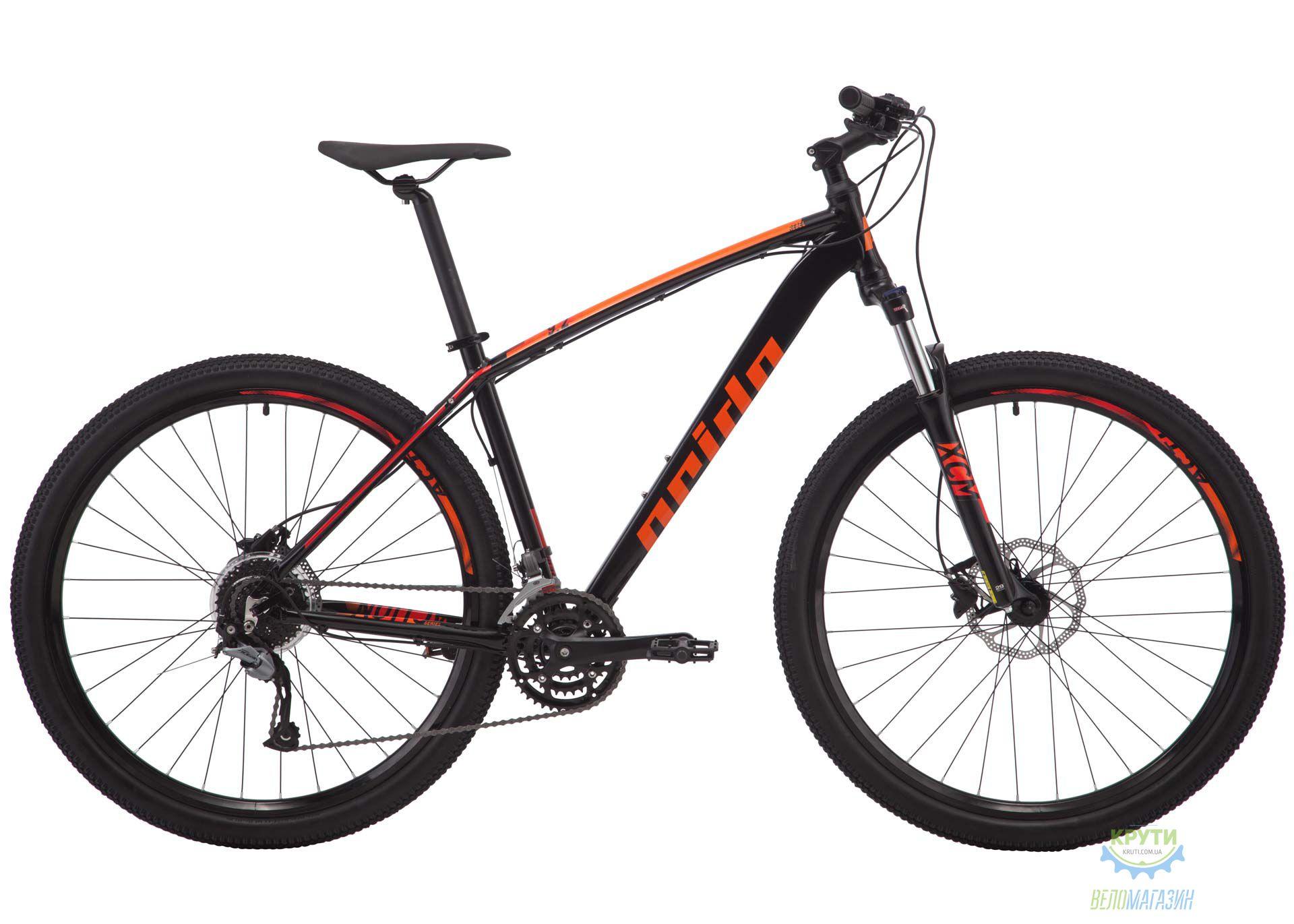 Велосипед 29 Pride Rebel 9.2 рама - XL черный 2018