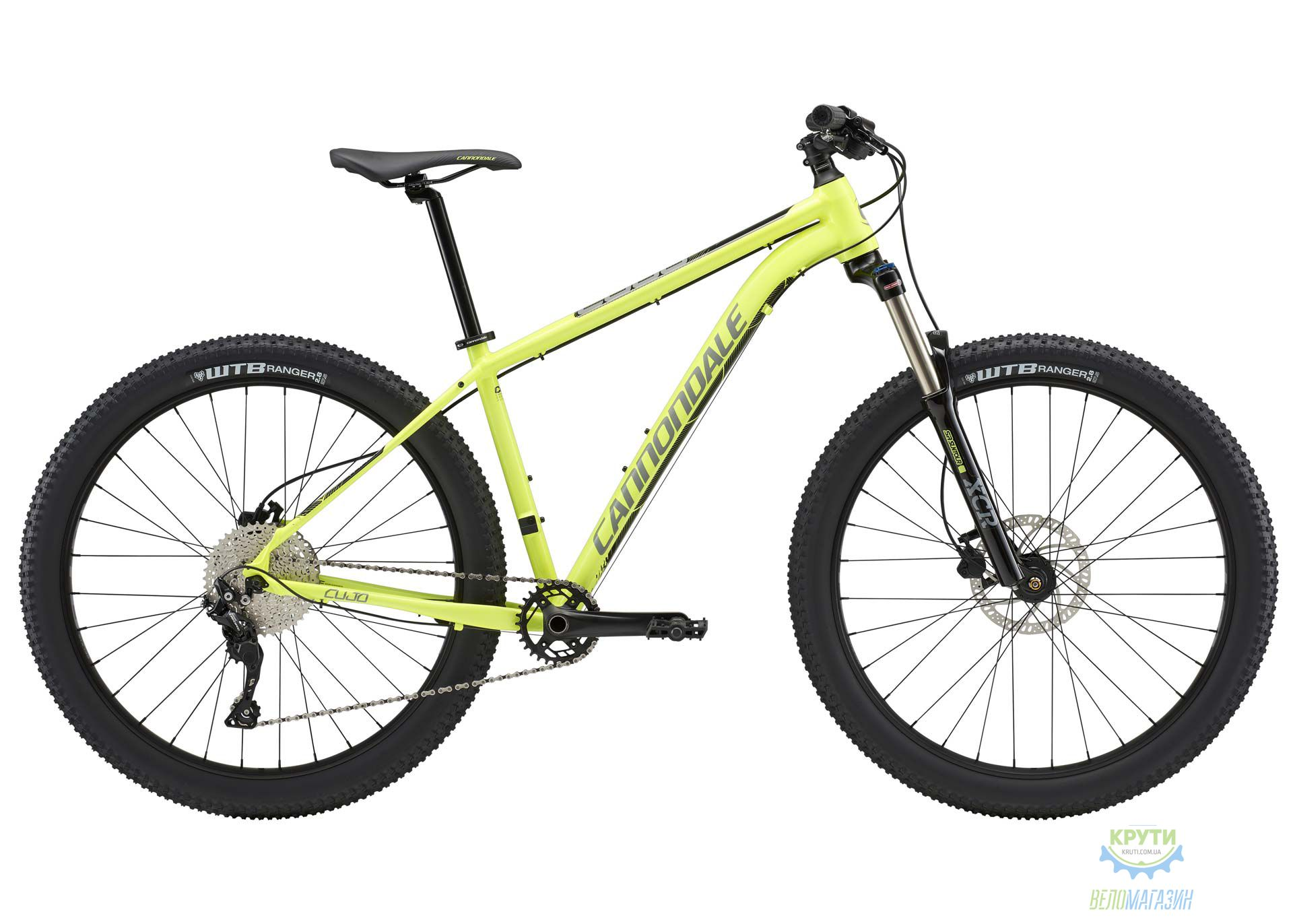 Велосипед 27,5+ Cannondale CUJO 3 рама - X 2018 VLT
