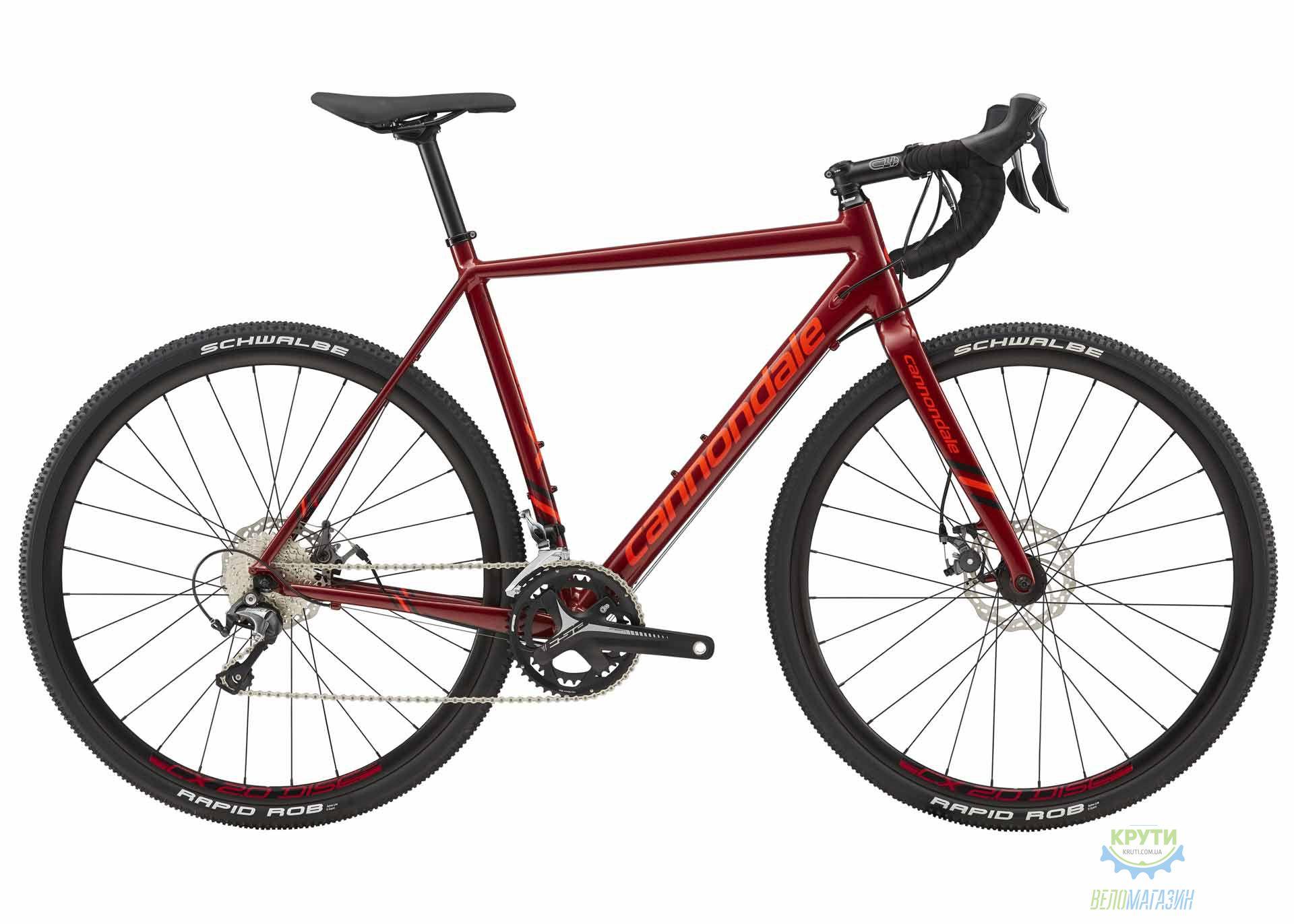 Велосипед 28 Cannondale CAADX Tiagra disc рама - 51 2018 FRD