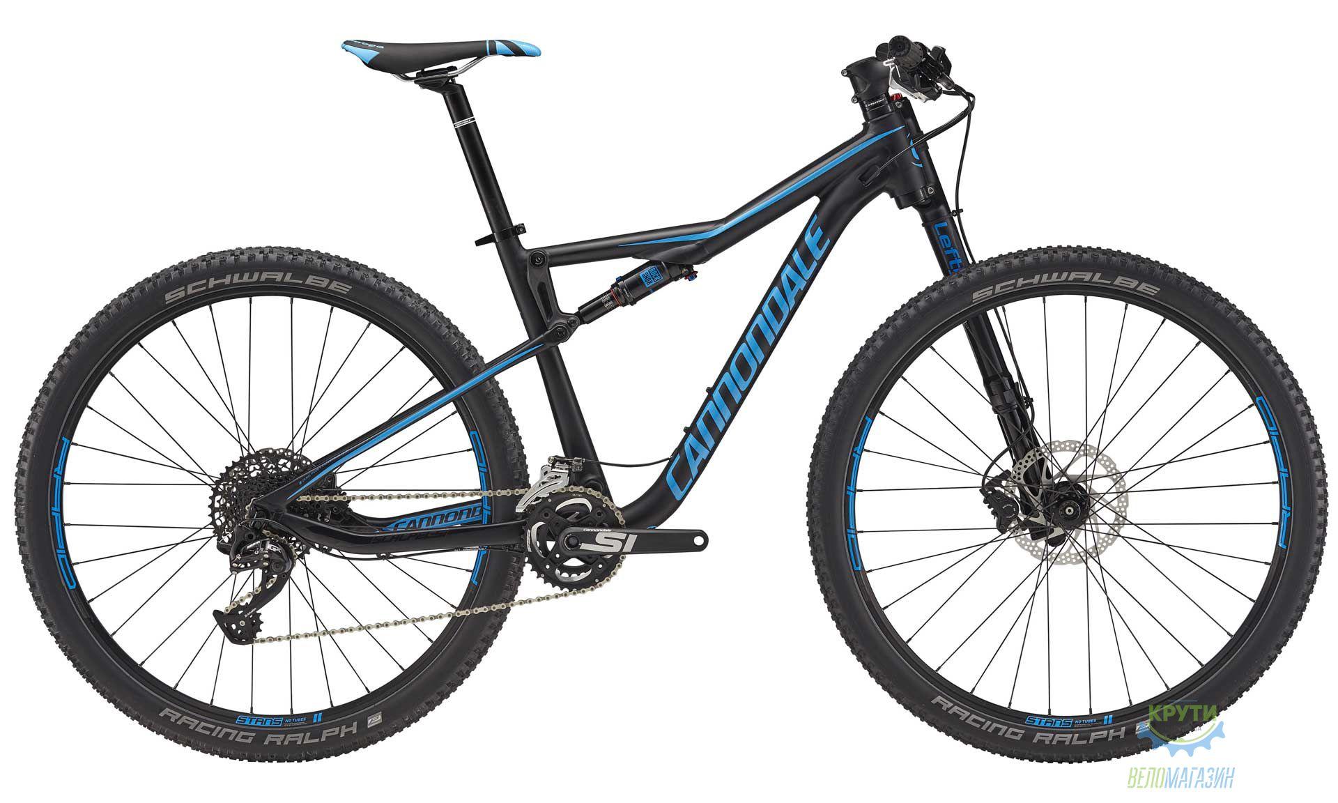 Велосипед 29 Cannondale SCALPEL SI 5 рама - M 2018 BLK черный