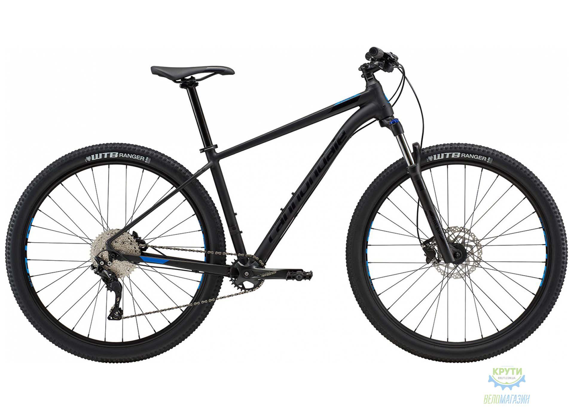 Велосипед 29 Cannondale TRAIL 5 рама - 2X BLK черный матовый