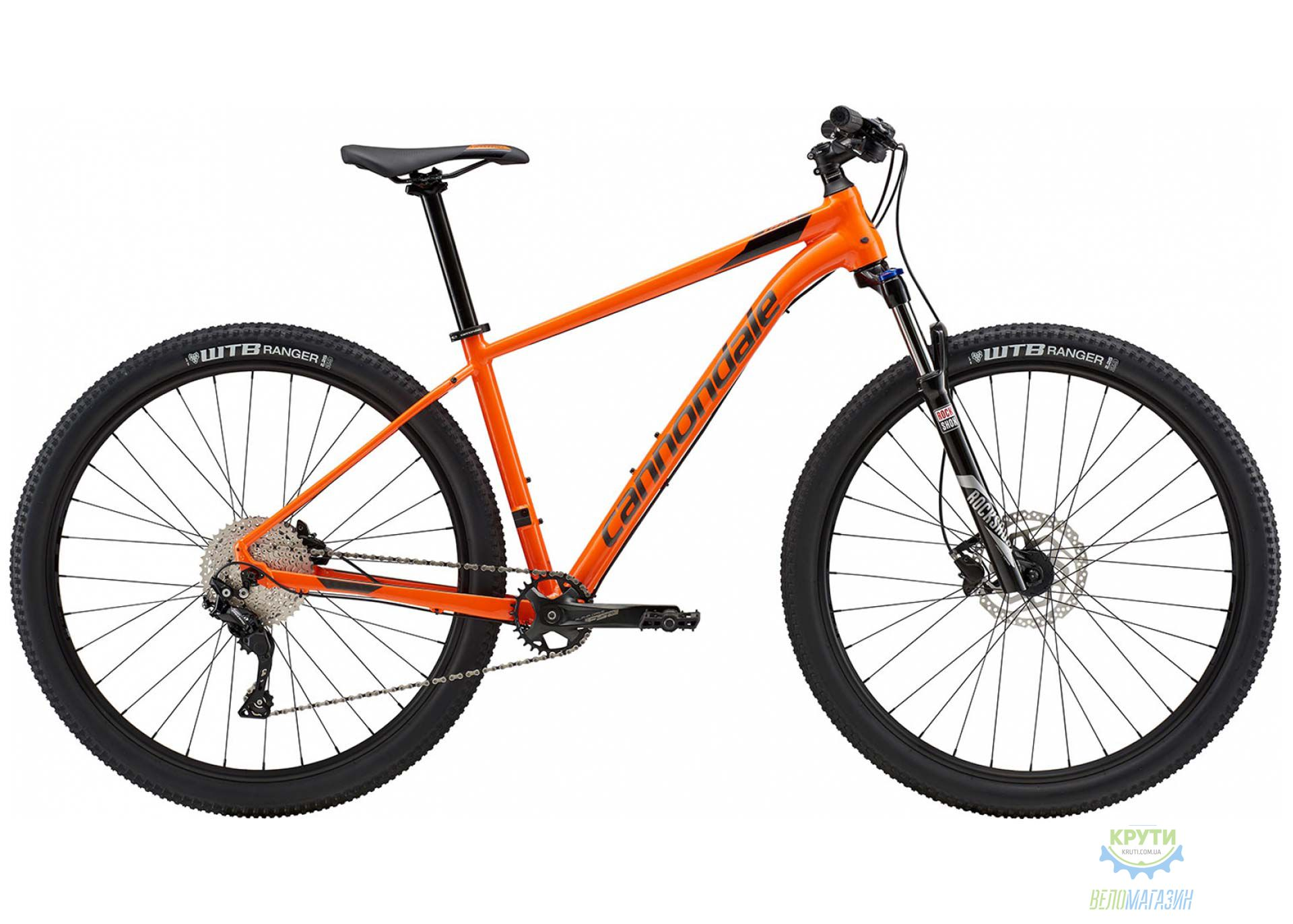 Велосипед 29 Cannondale TRAIL 5 рама - L 2018 ORG оранжевый