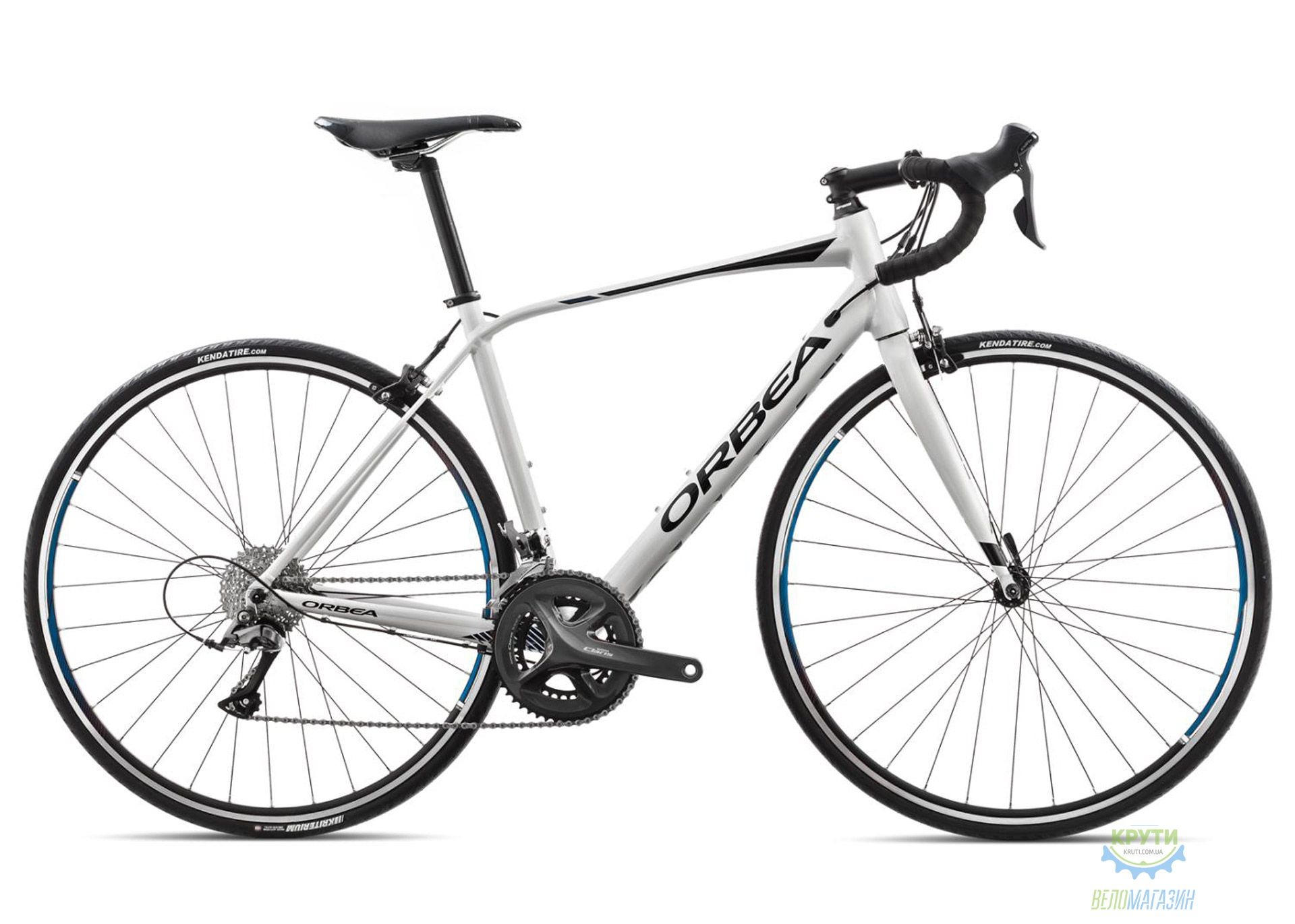 Велосипед Orbea AVANT H60 18 53 White-Black-Blue 2018