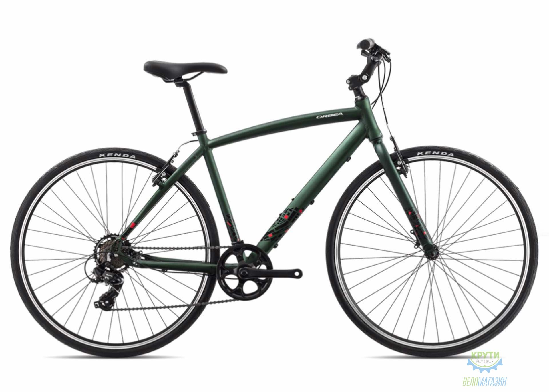 Велосипед Orbea CARPE 50 18 L Green - Red 2018