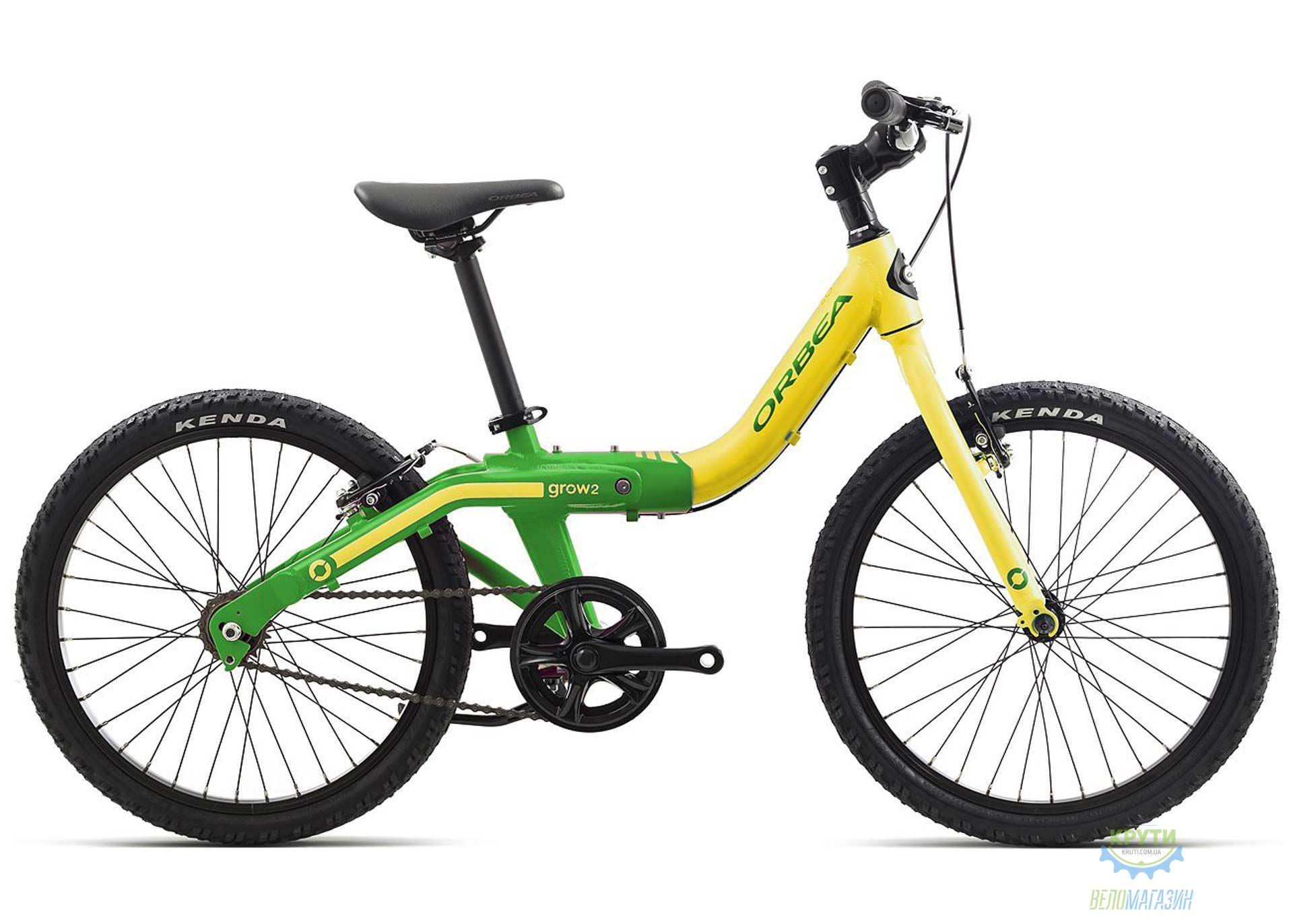 Велосипед Orbea GROW 2 1V 18 Pistach - Green 2018