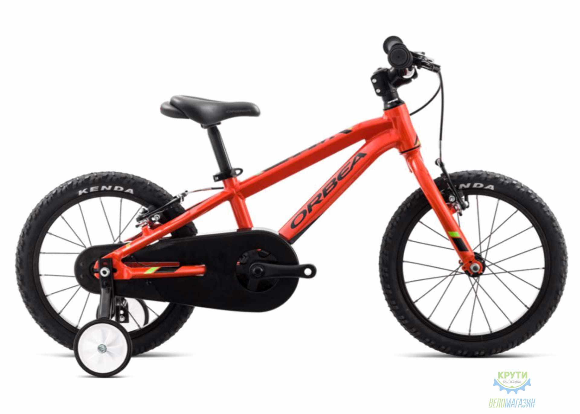 Велосипед Orbea MX 16 18 Orange - Green 2018