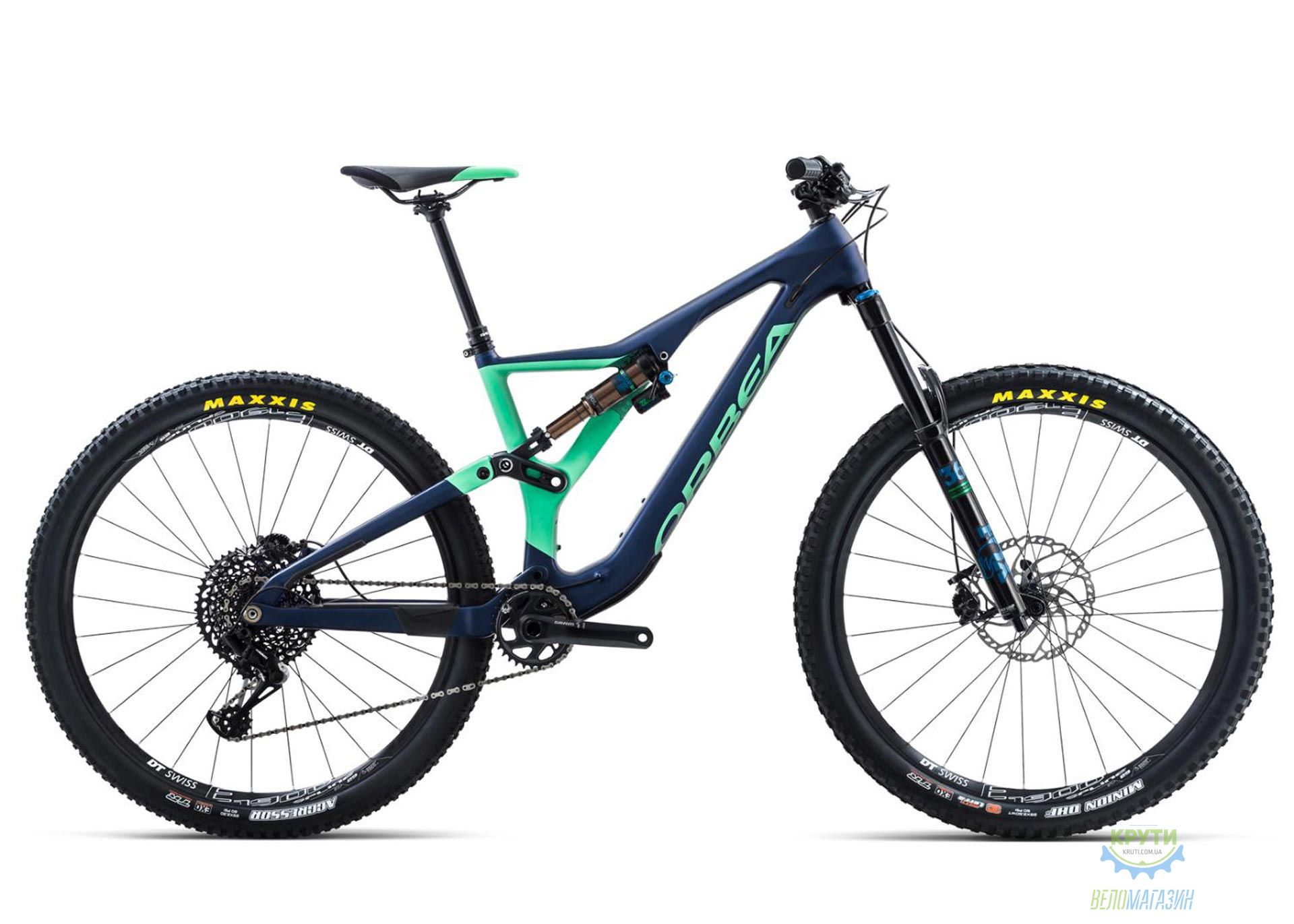 Велосипед Orbea RALLON M10 18 L BLUE-MINT 2018