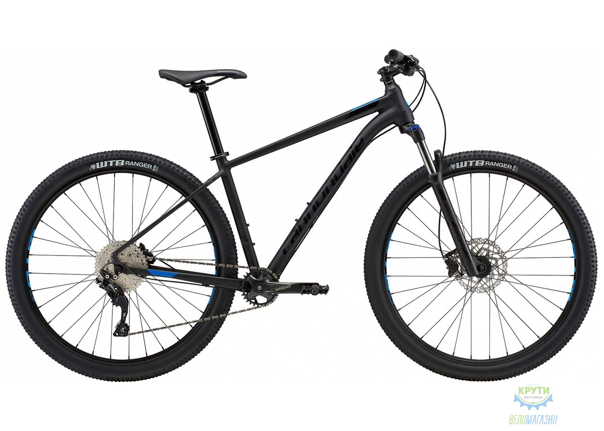 Велосипед 29 Cannondale TRAIL 5 рама - L 2018 BLK черный матовый