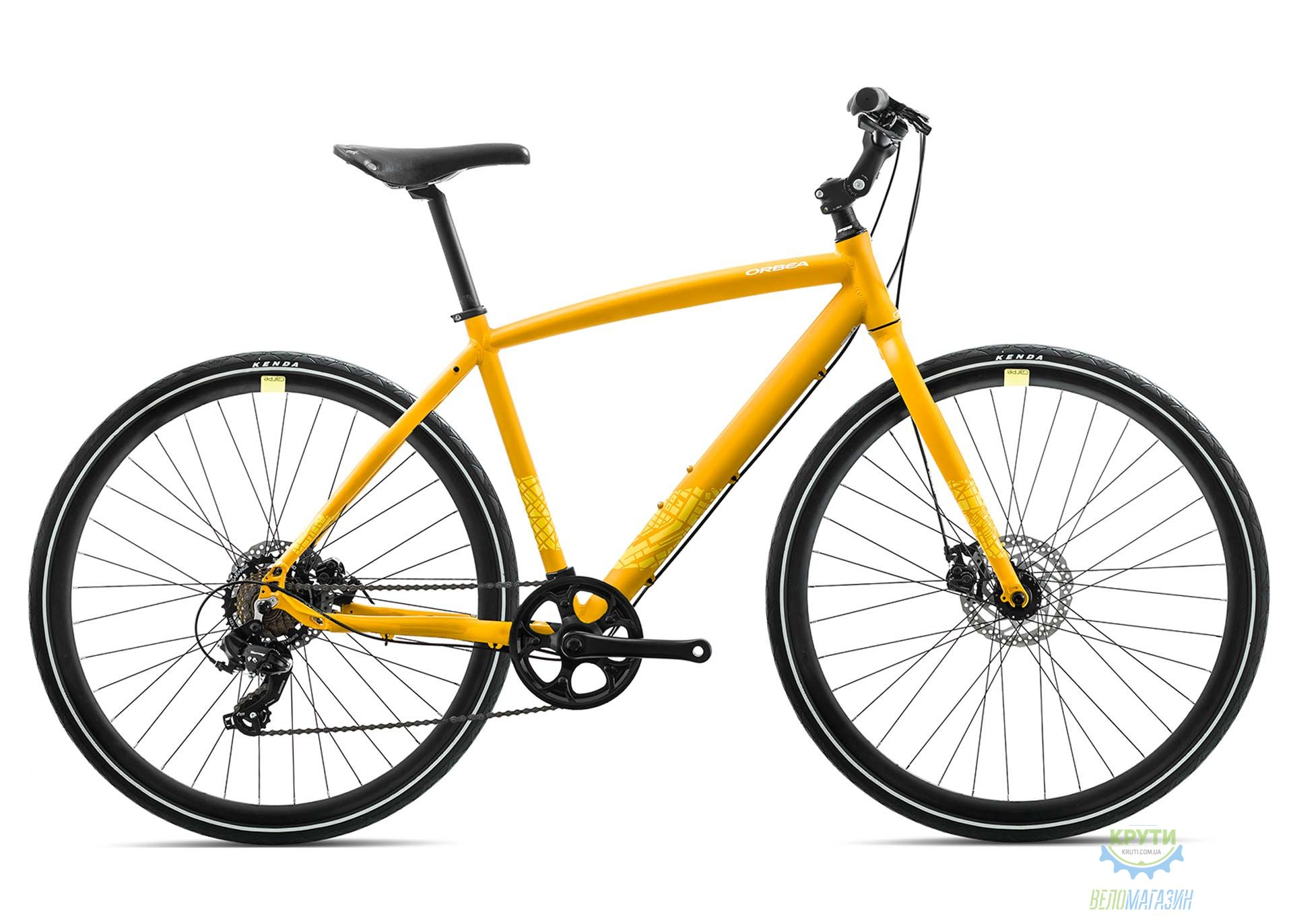 Велосипед Orbea CARPE 40 18 L Yellow 2018