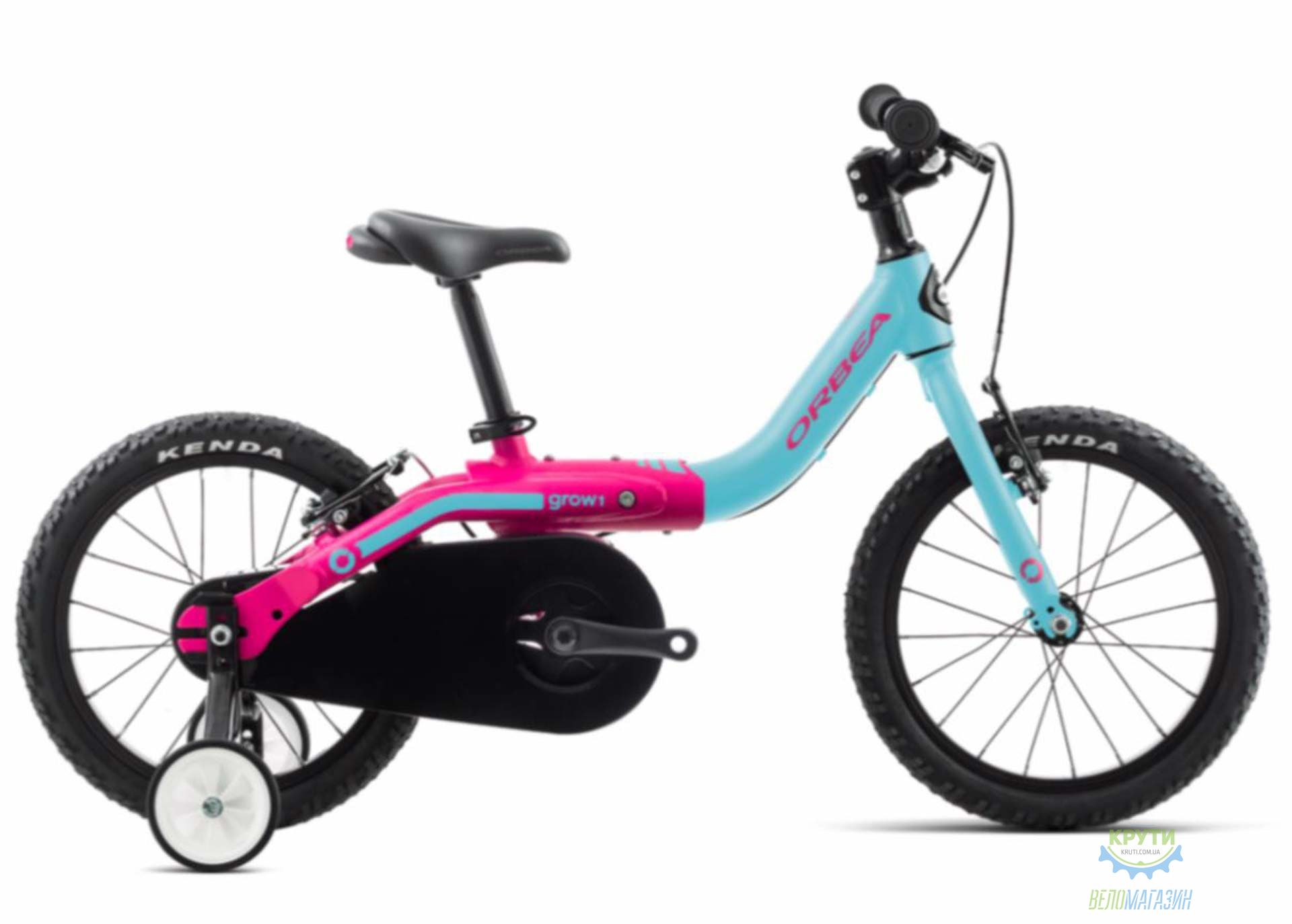 Велосипед Orbea GROW 1 18 Blue - Pink 2018