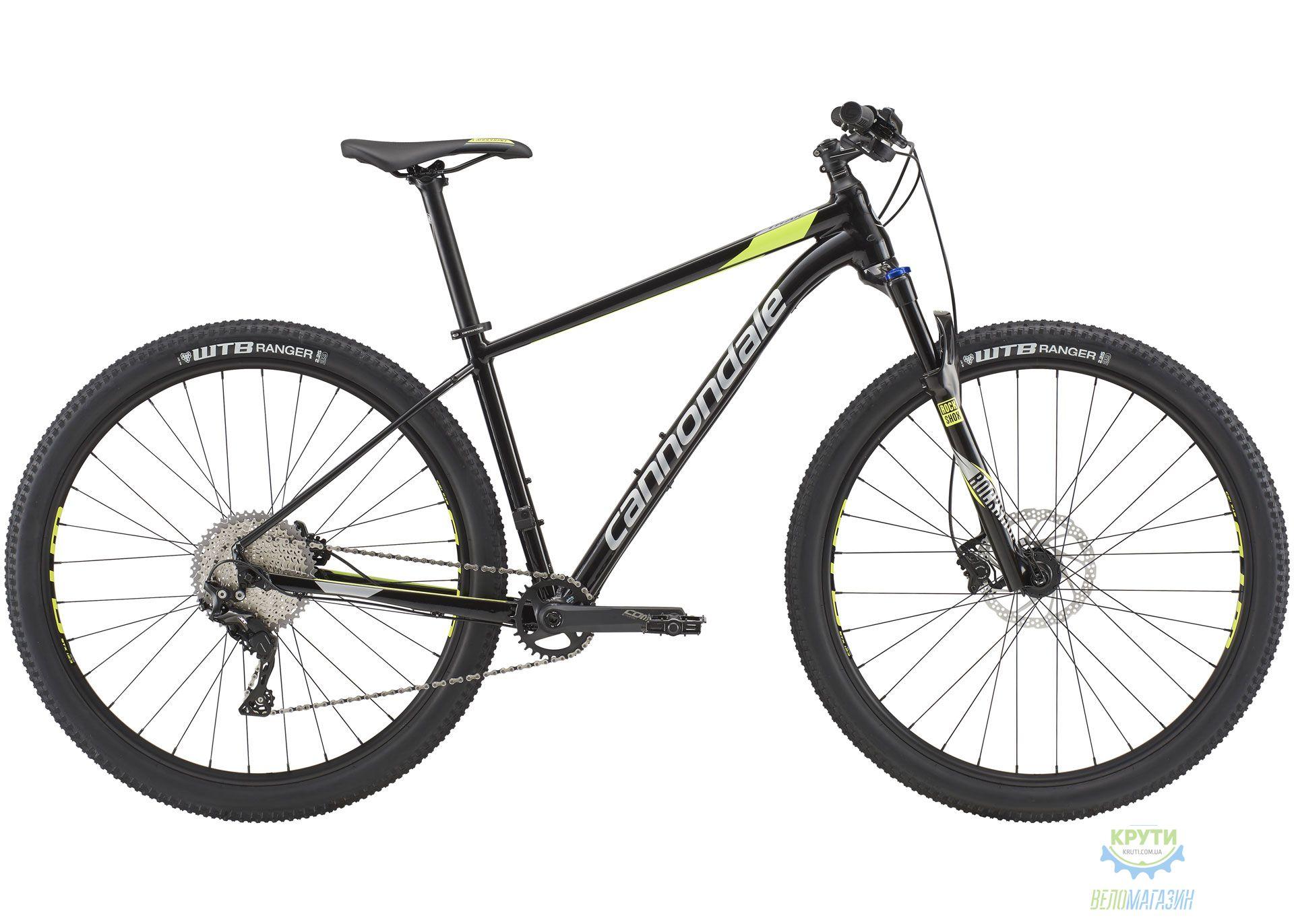 Велосипед 29 Cannondale Trail 2 рама - L 2019 BLK