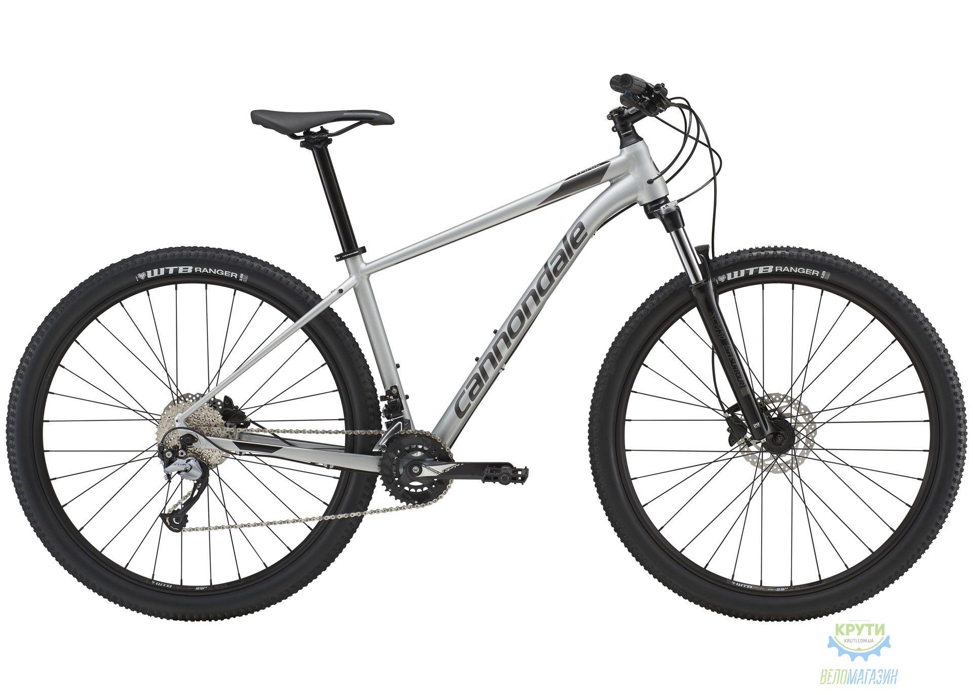 Велосипед 29 Cannondale Trail 6 рама - M 2019 SLV