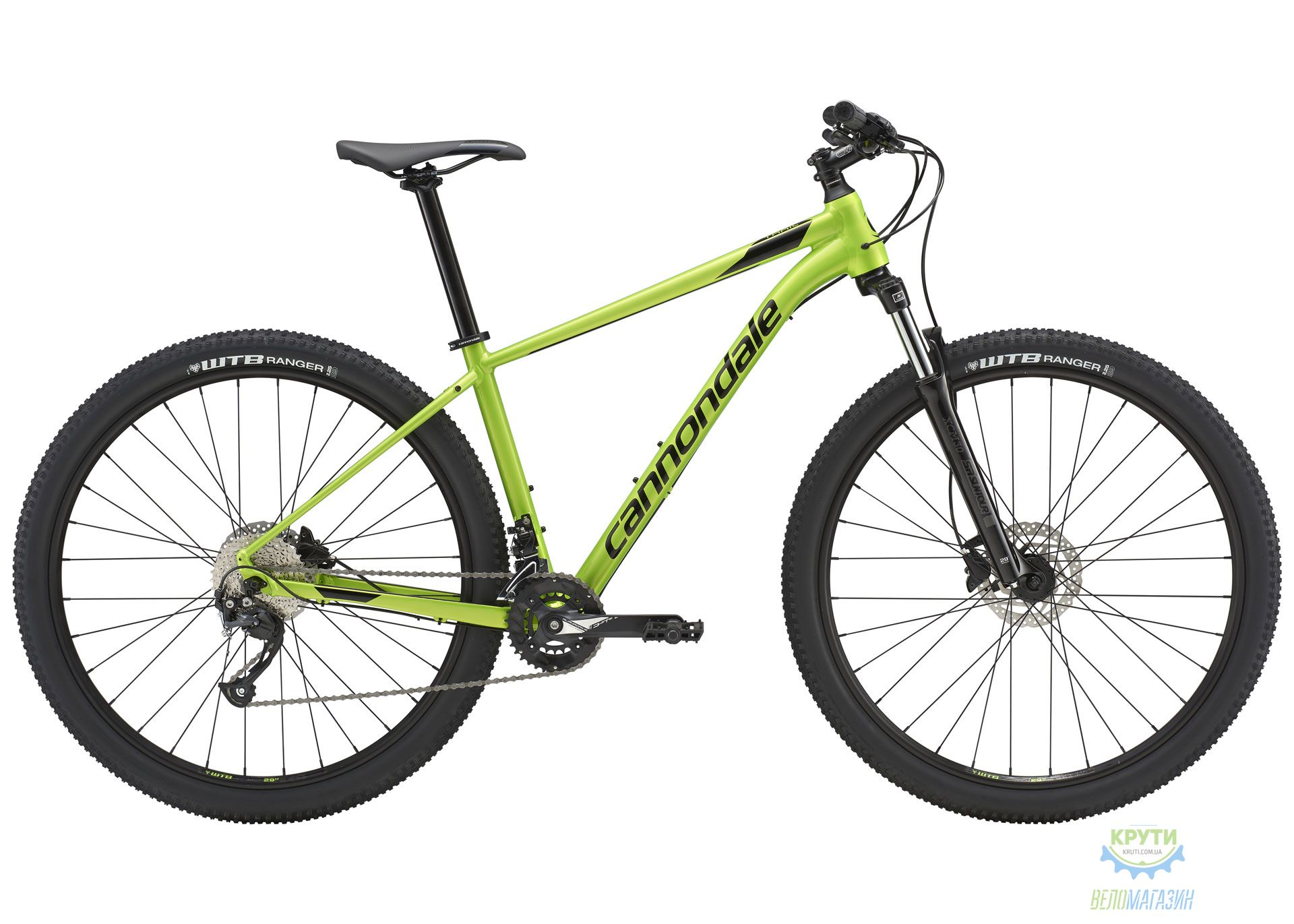 Велосипед 29 Cannondale Trail 7 рама - M 2019 AGR