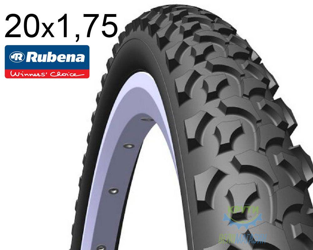 Покрышка 20x1.75*2 (47x406) MITAS (RUBENA) RAPID V36 Classic черная