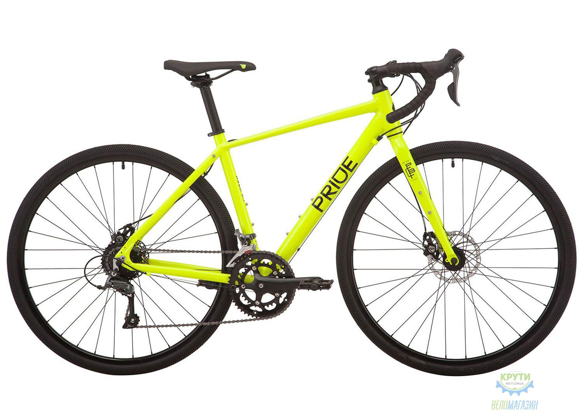 Велосипед 28 Pride ROCX 8.1 рама - XL лайм 2019