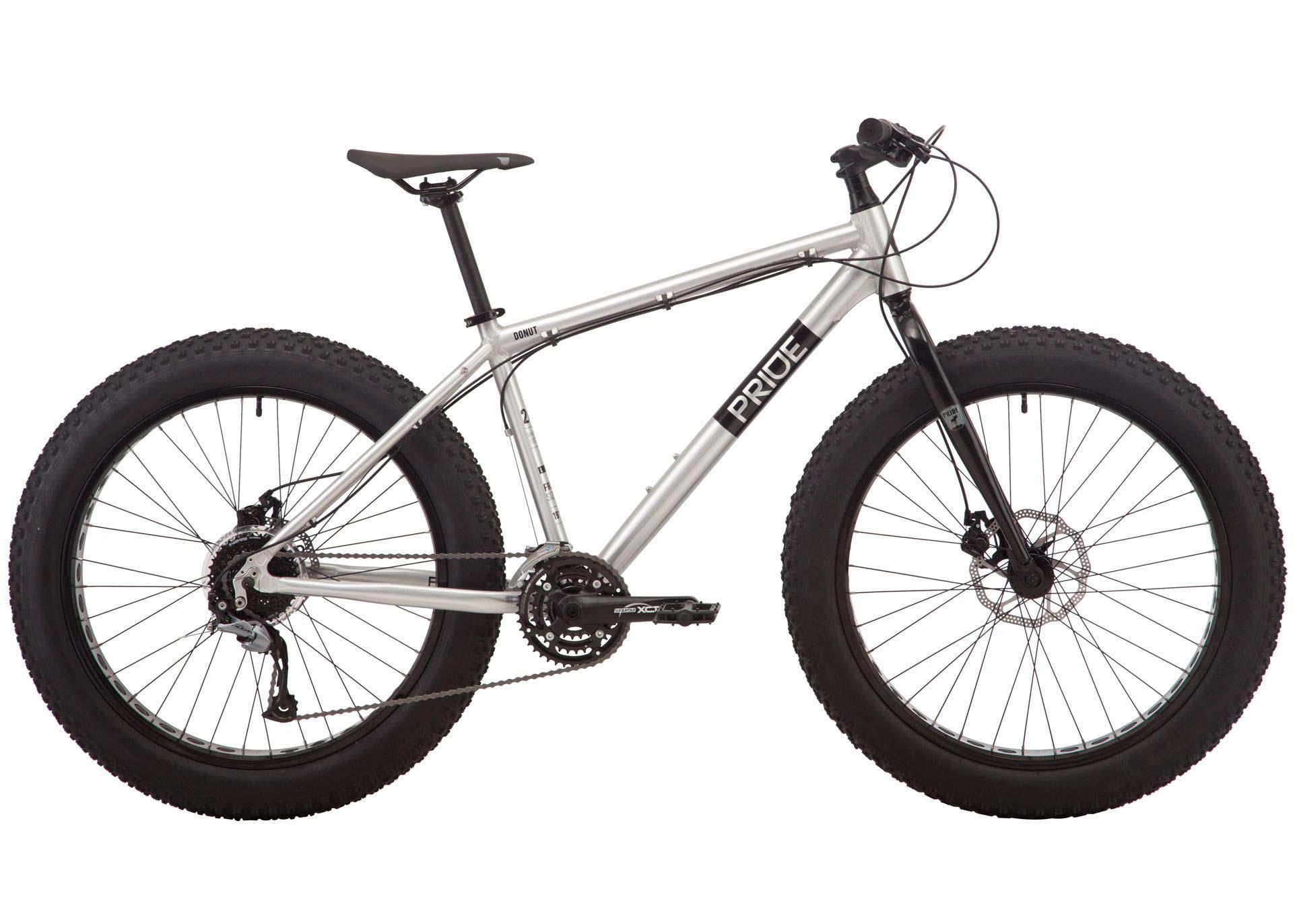 Велосипед 26 Pride DONUT 6.2 рама - X серый 2019