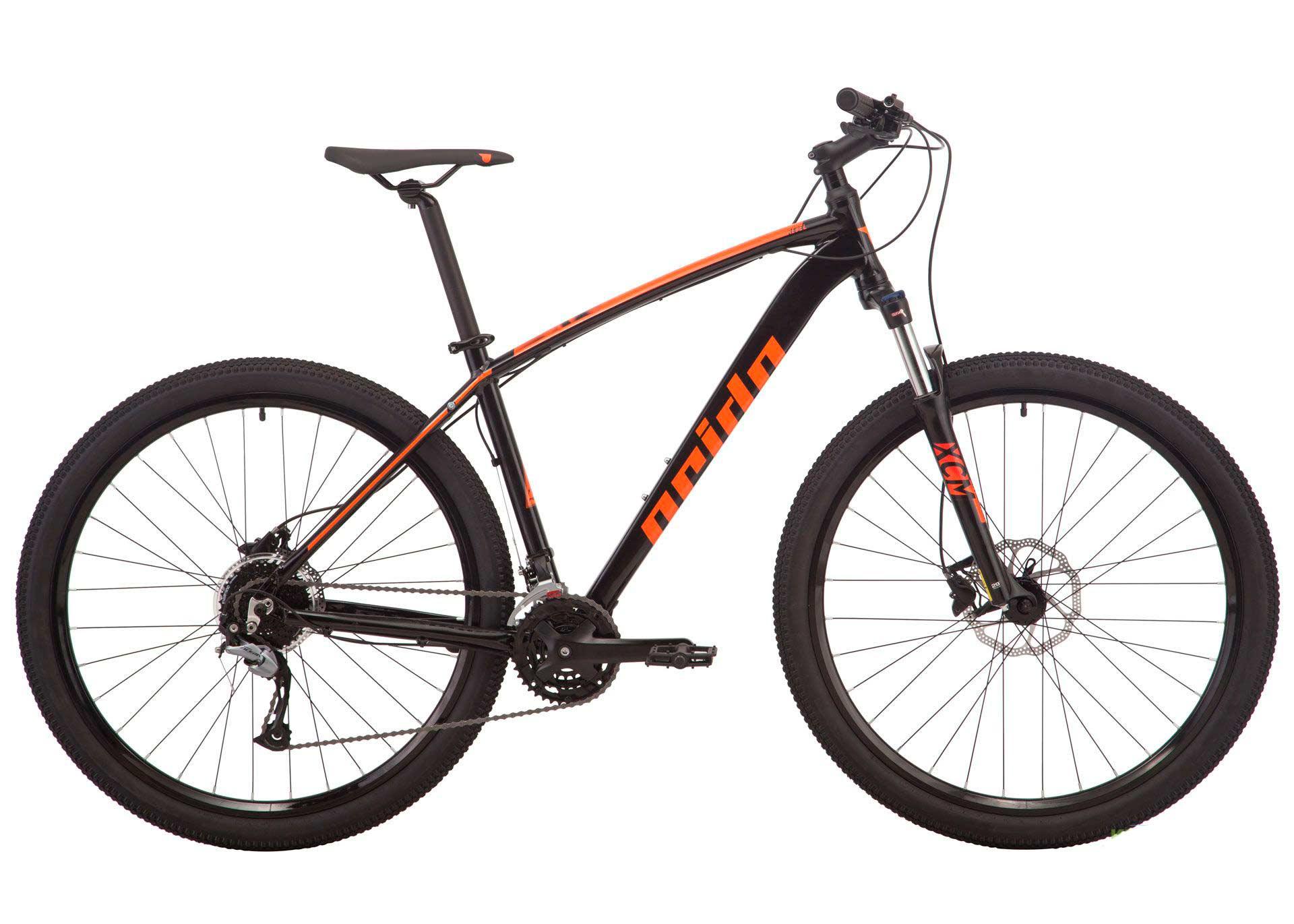 Велосипед 29 Pride REBEL 9.2 рама - M черный 2019
