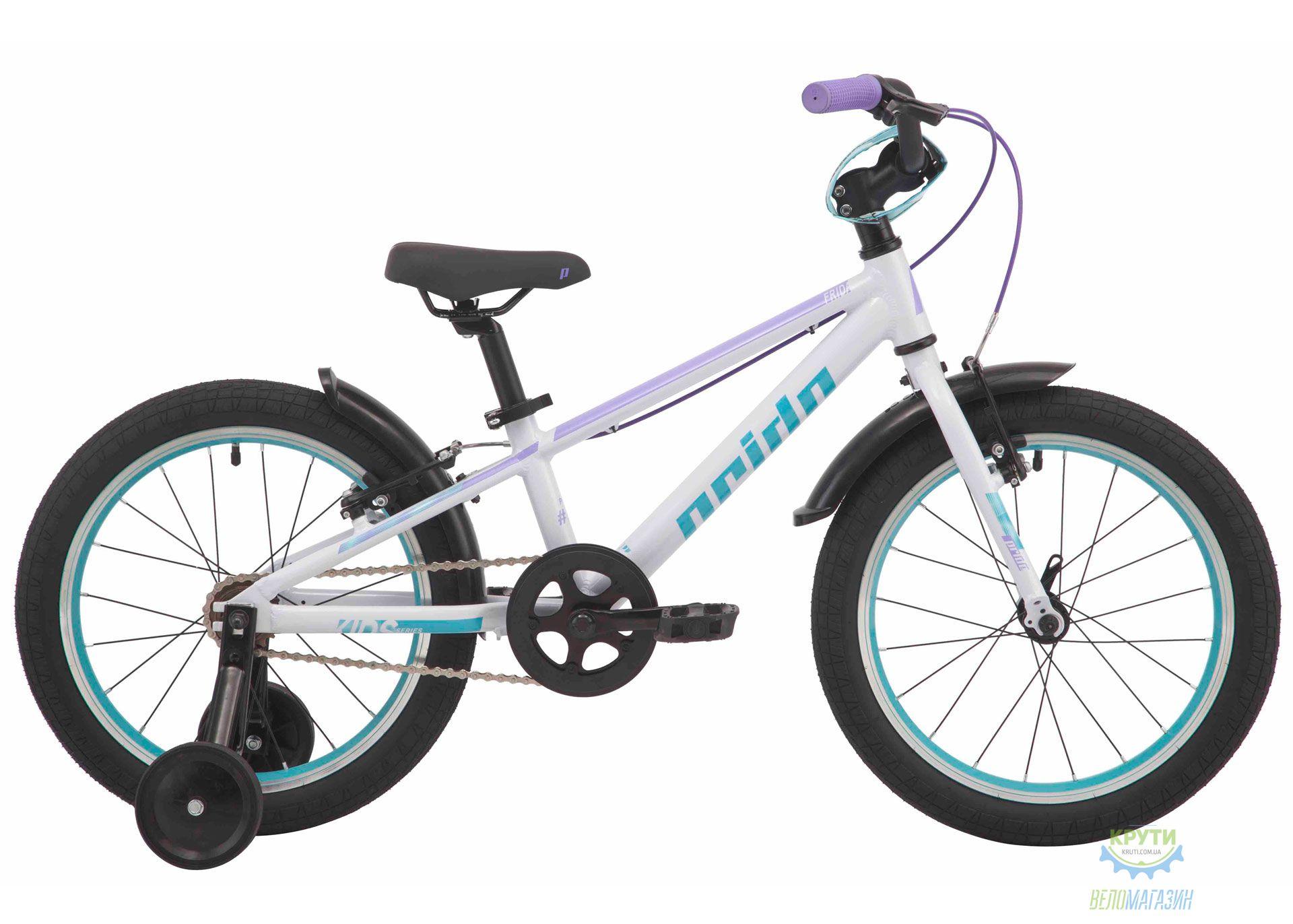 Велосипед 18 Pride FRIDA 18 белый 2019