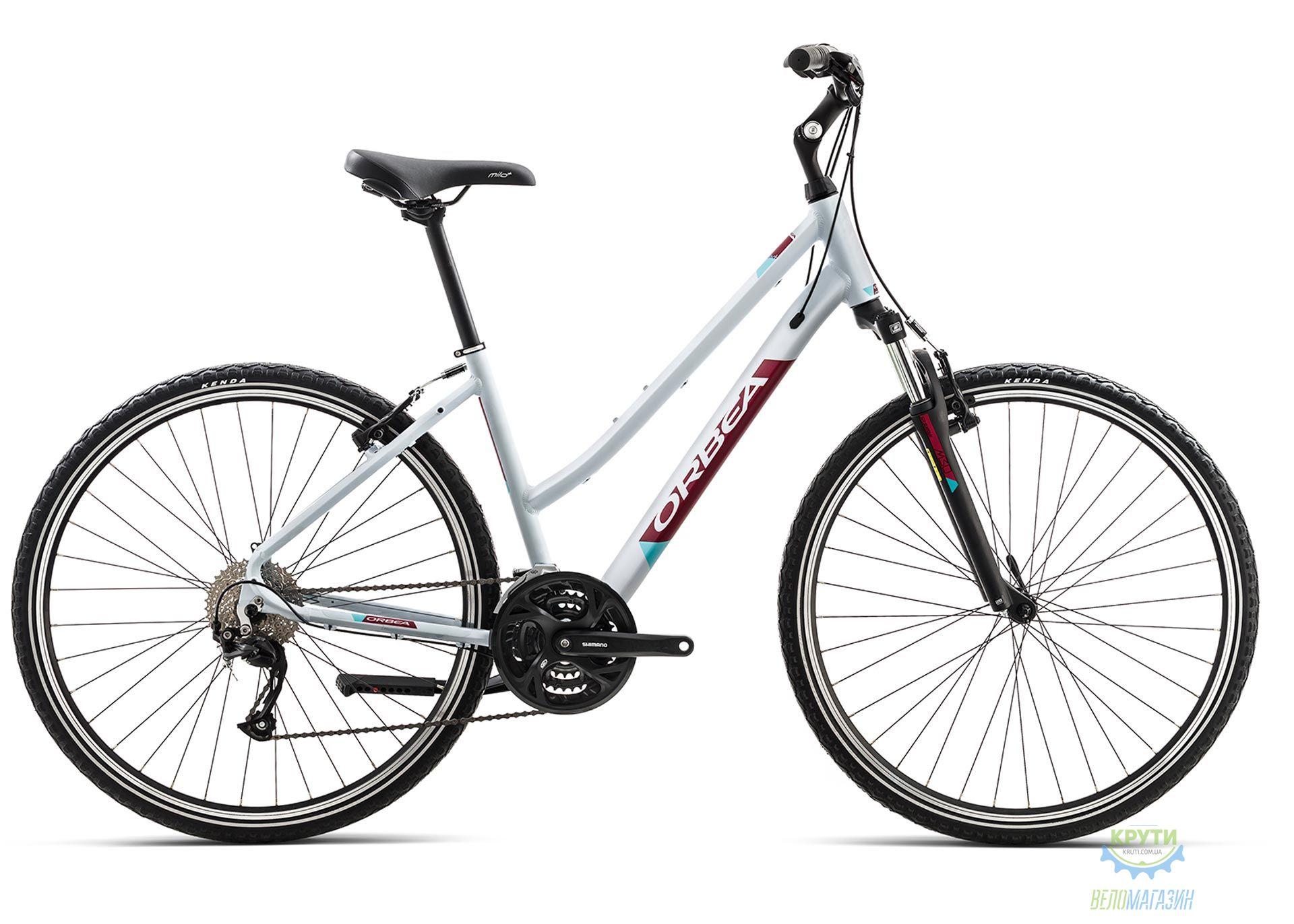 Велосипед Orbea COMFORT 22 L Grey - Garnet 2019