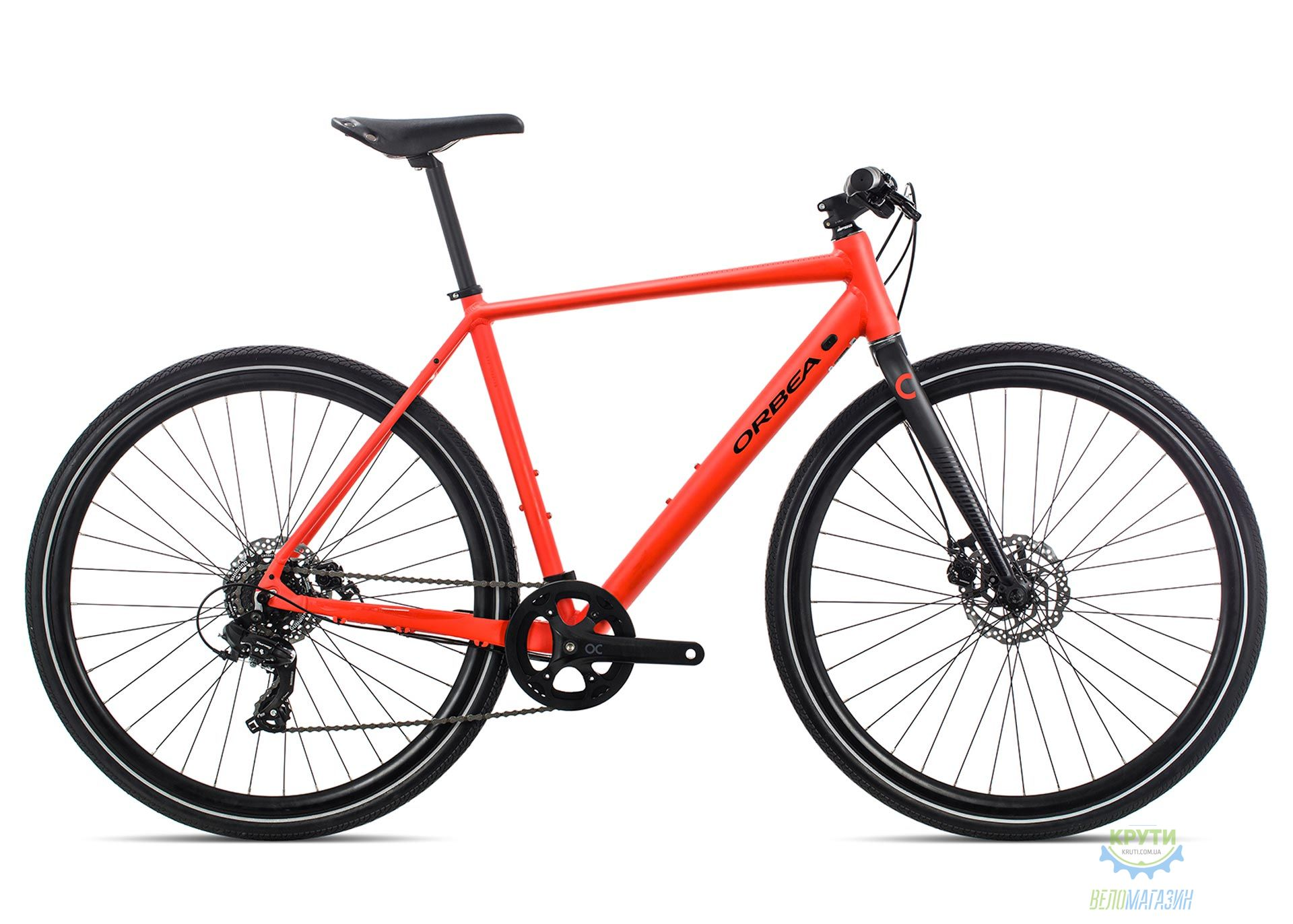 Велосипед Orbea CARPE 40 L Bright Red - Black 2019