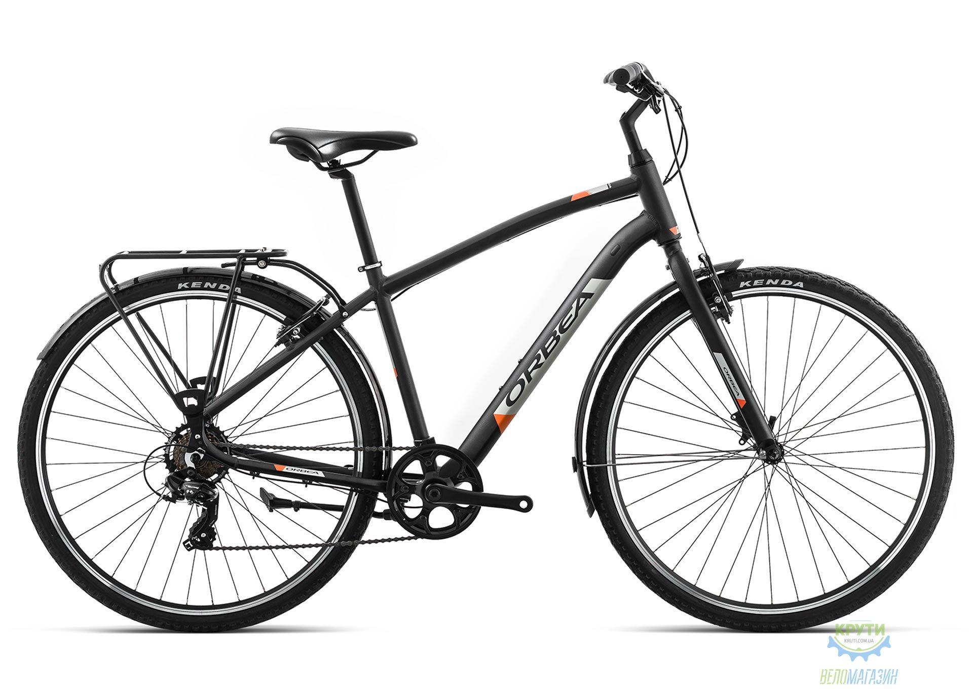 Велосипед Orbea COMFORT 40 PACK L Anthracite - Orange 2019
