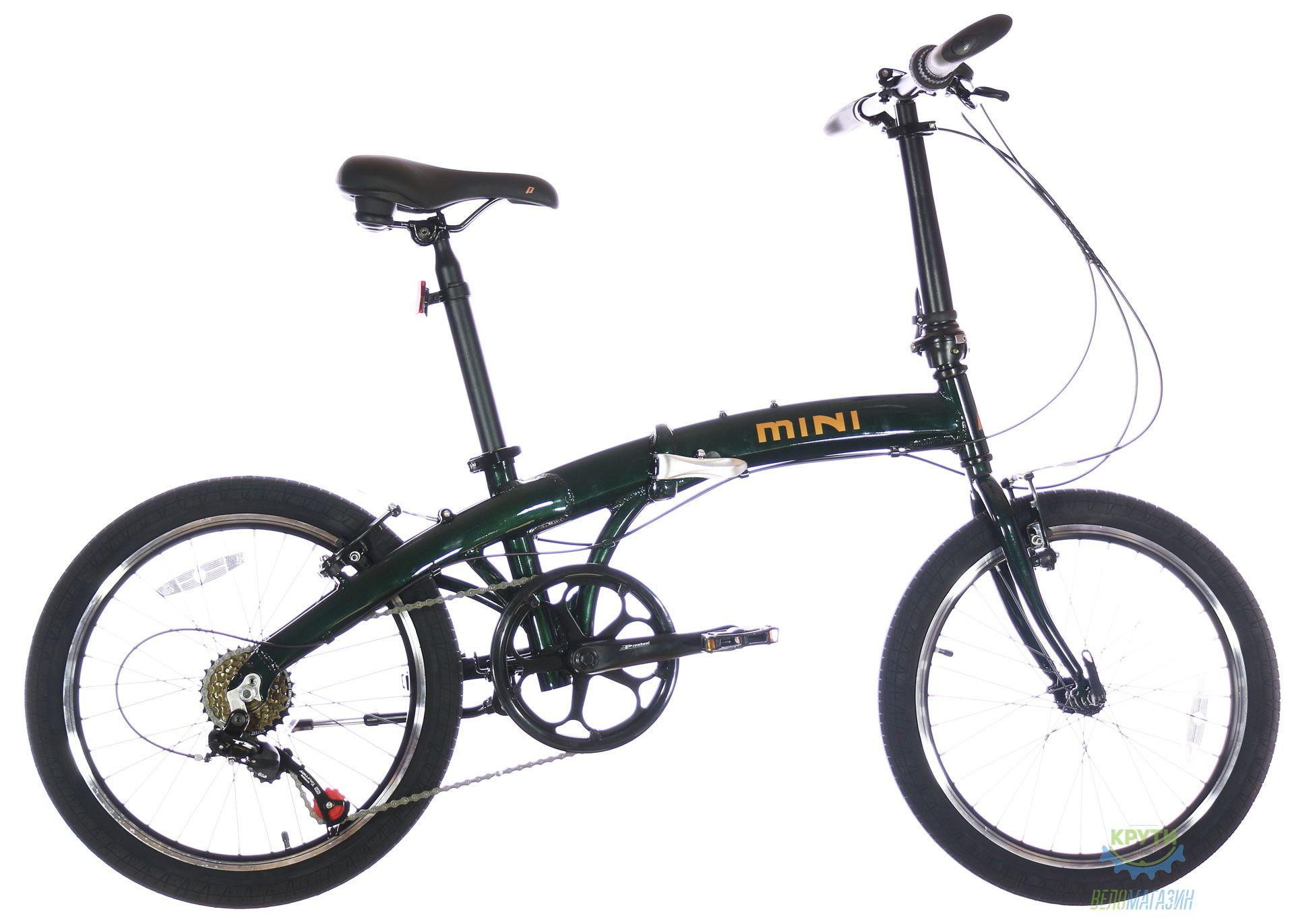 Велосипед 20 Pride MINI 6 темно-зеленый 2020