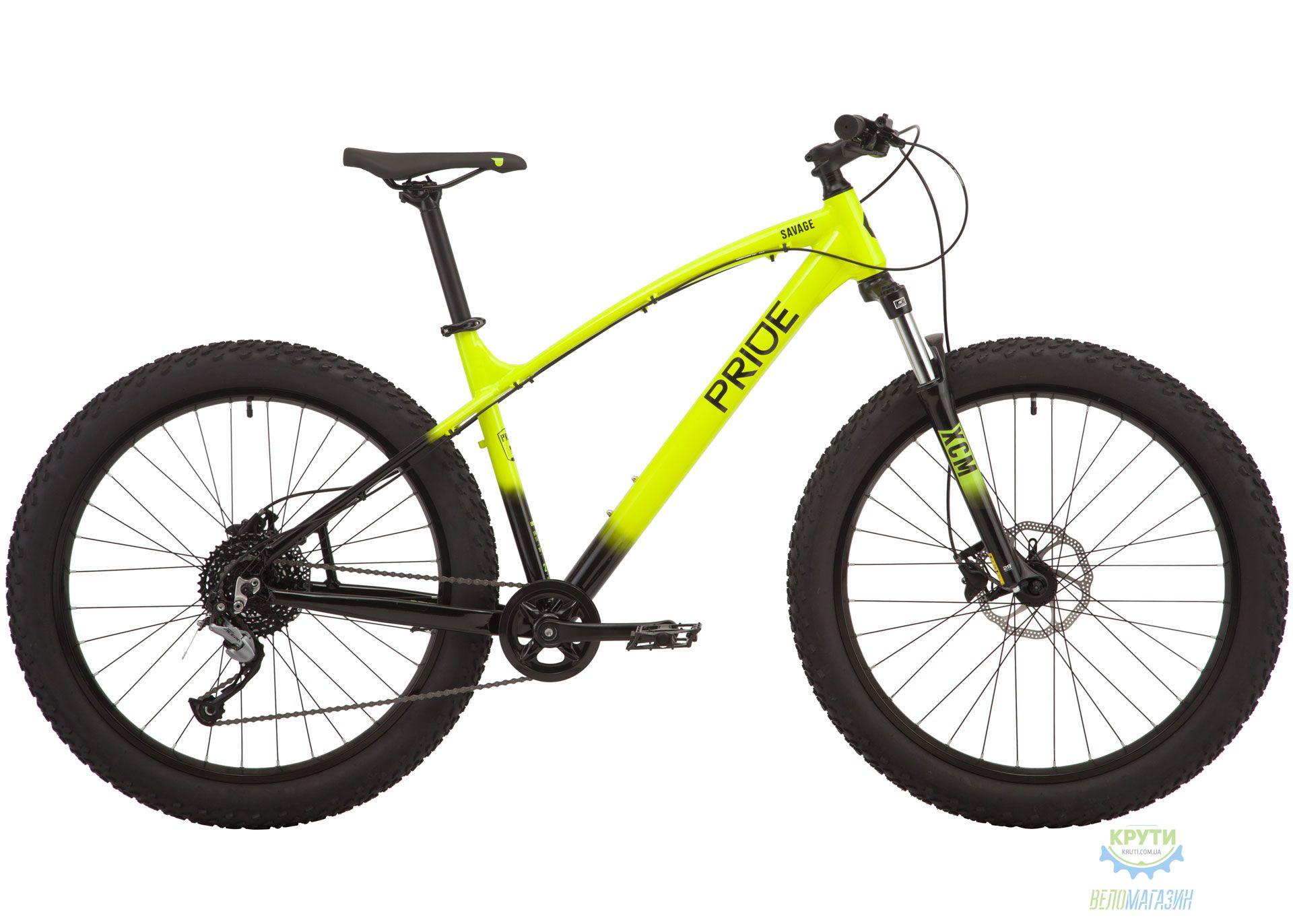 Велосипед 27,5 Pride SAVAGE 7.1 рама - XL желтый 2019