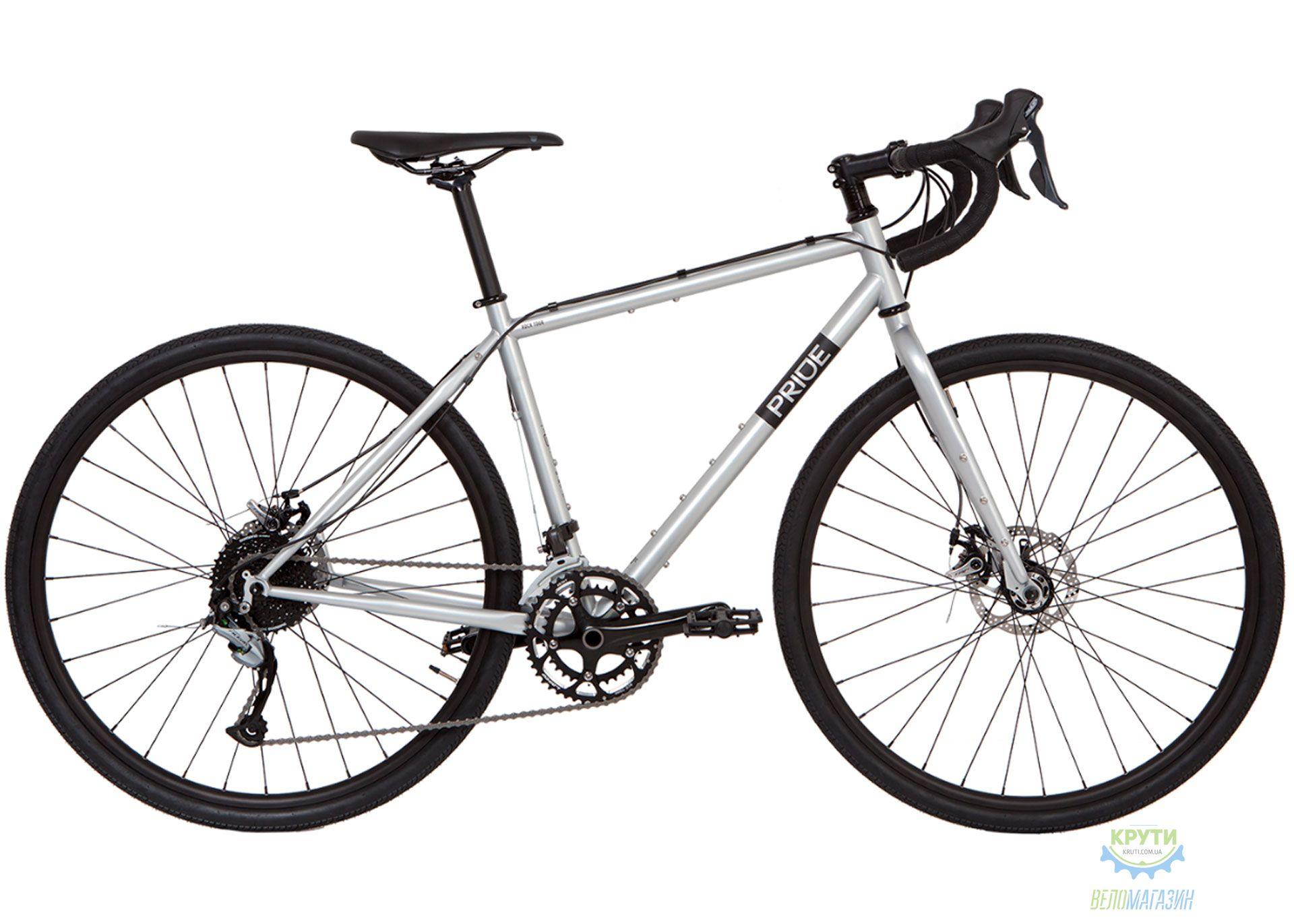 Велосипед 28 Pride ROCX Tour disc рама - XL светло-серый 2019