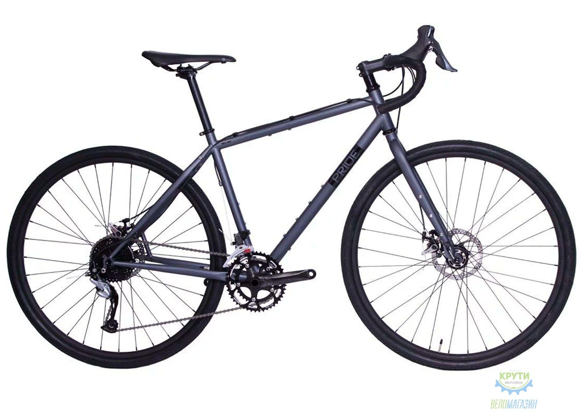 Велосипед 28 Pride ROCX Tour disc Рама - M темно-серый 2019