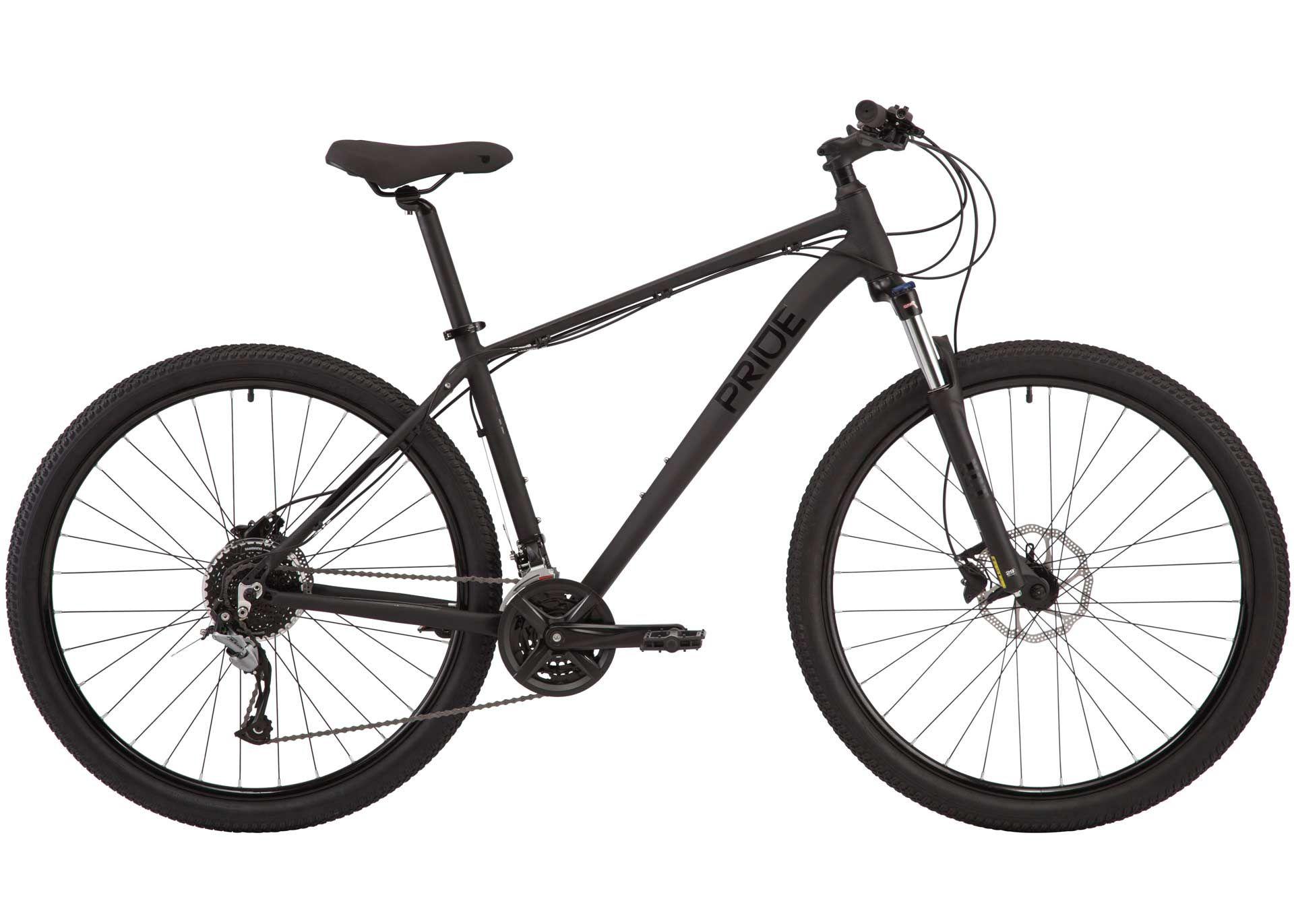 Велосипед 29 Pride MARVEL 9.3 рама - XL 2020 BLACK/BLACK