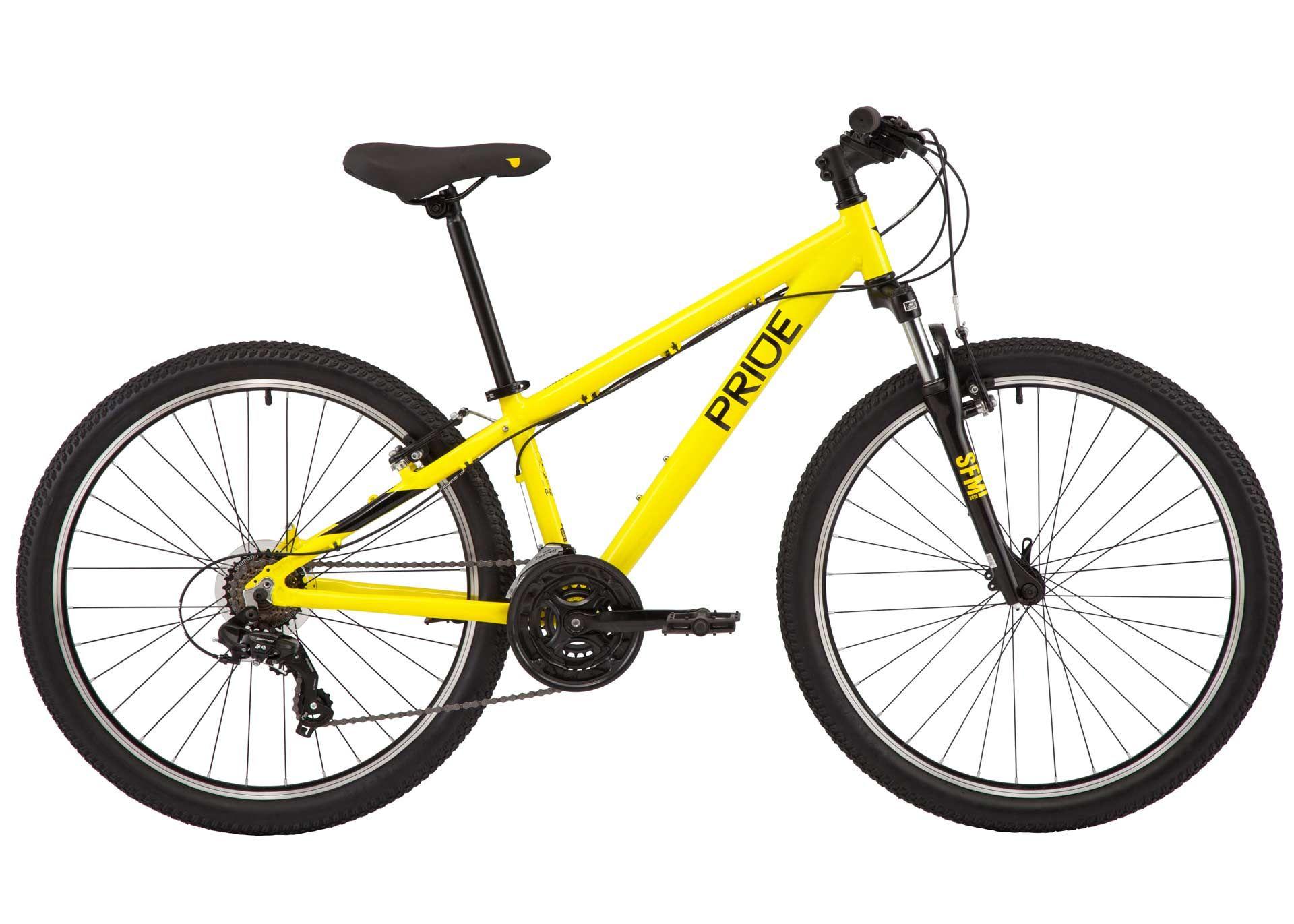 Велосипед 26 Pride MARVEL 6.1 рама - S 2020 YELLOW/BLK