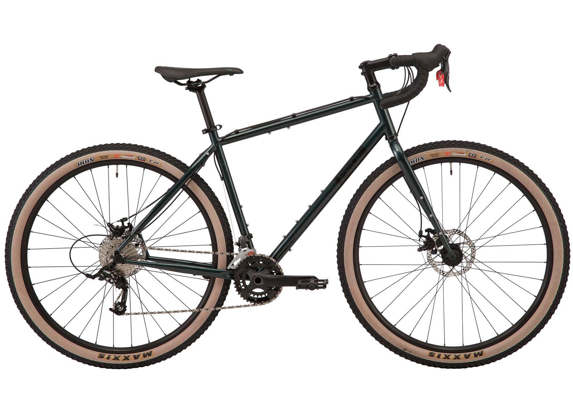 Велосипед 28 Pride ROCX DIRT Tour рама - M зеленый 2019