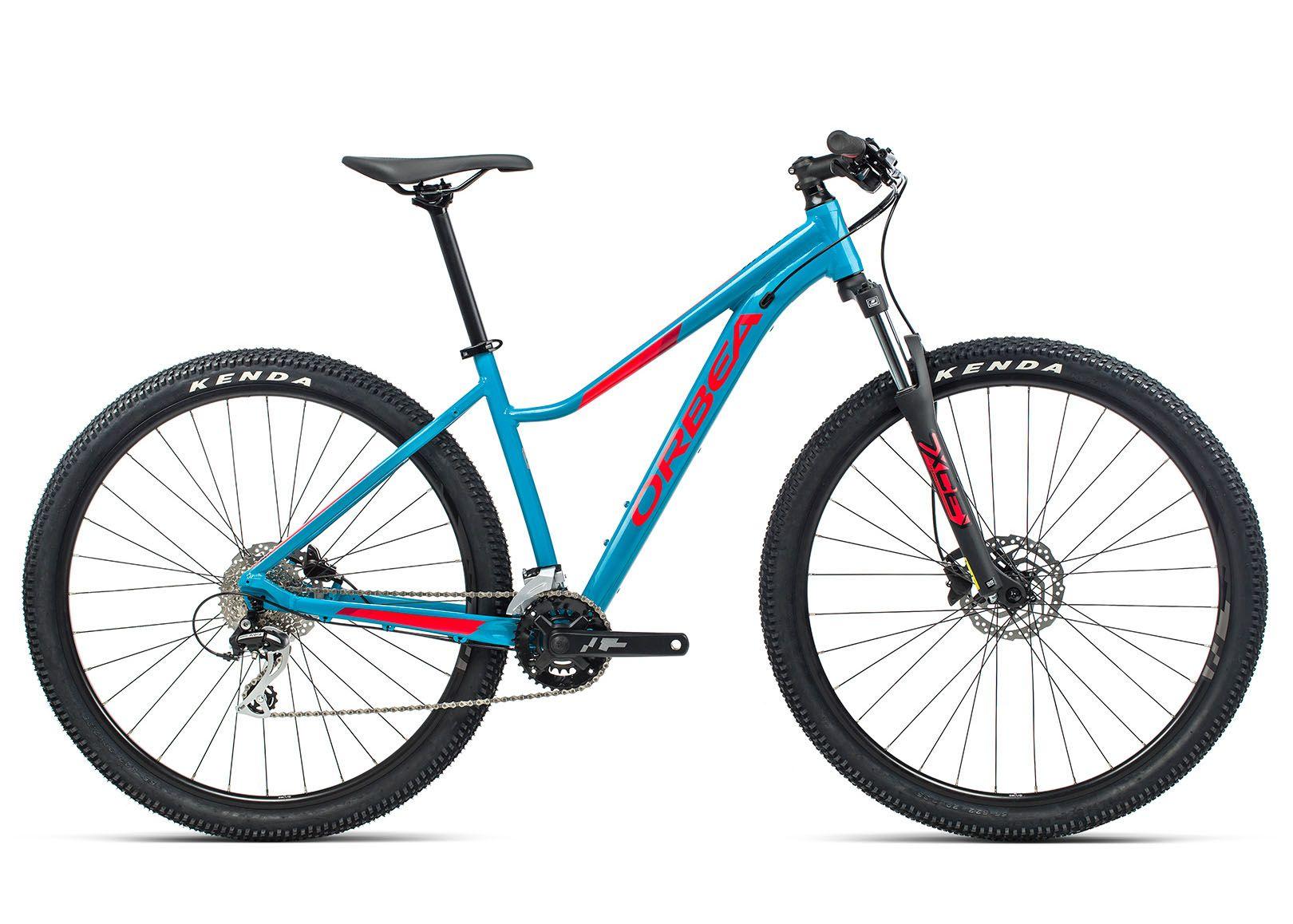 Велосипед Orbea MX50 ENT 29 L 2021 Blue Bondi- Bright Red (Gloss)