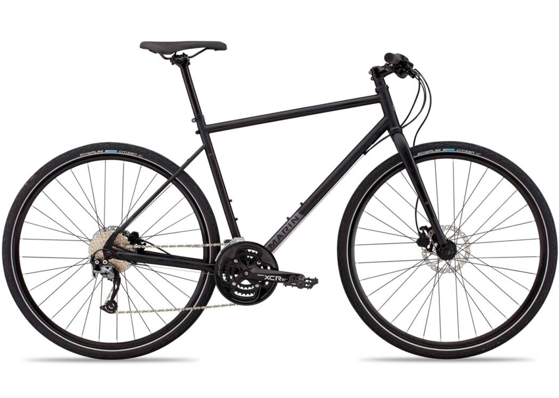 Велосипед 29MarinMUIRWOODS рама - M 2021 Satin Black/Gloss Reflective Black