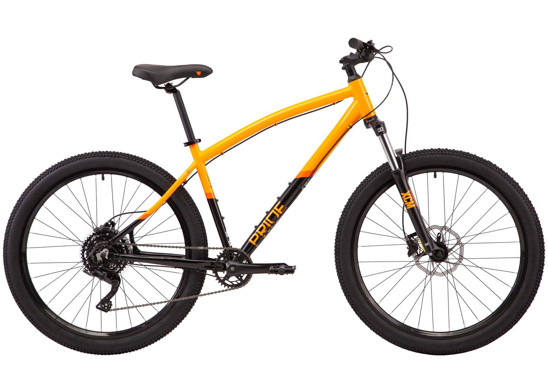 Велосипед 27,5 Pride RAGGEY рама - XL 2021 оранжевый