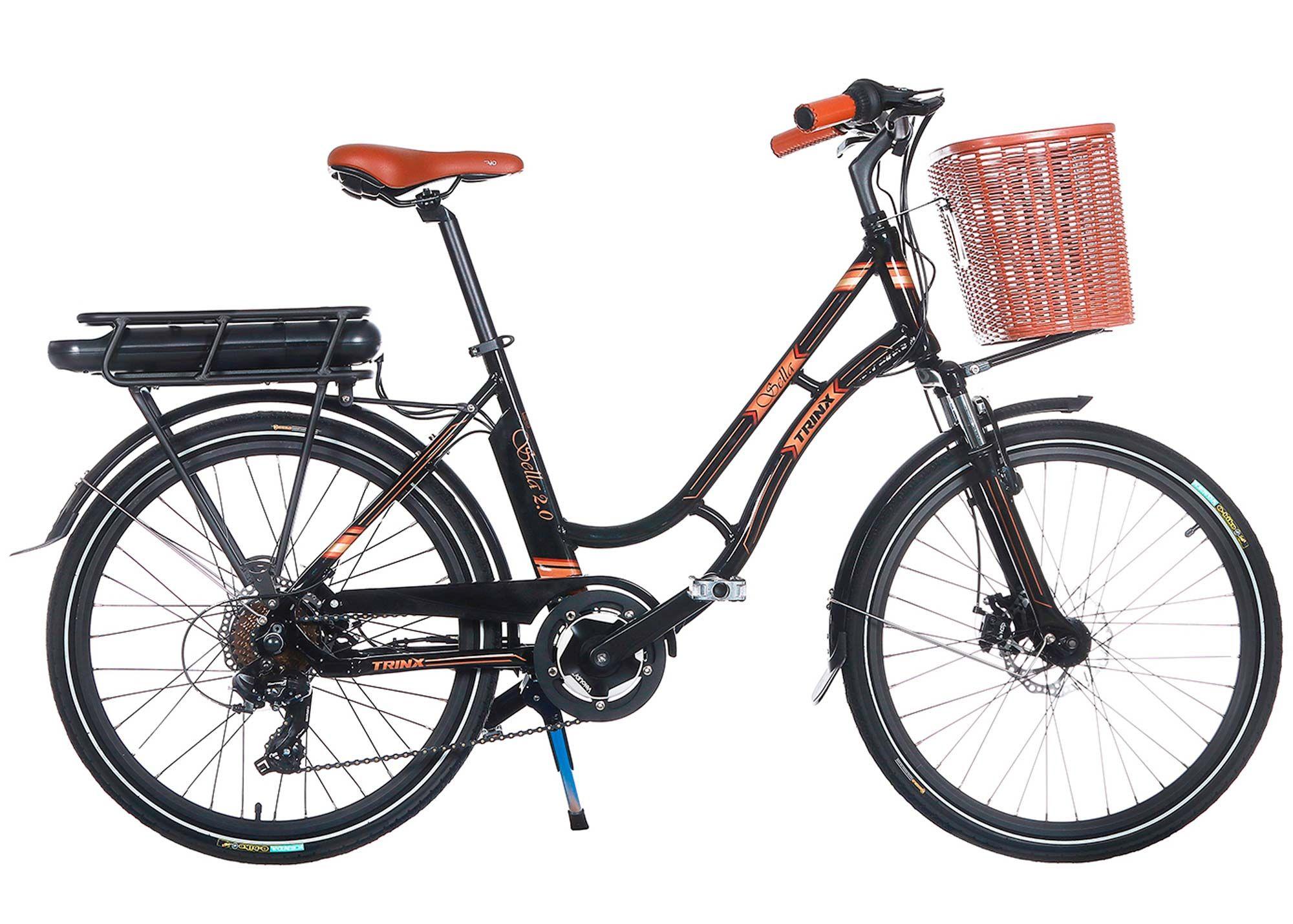 Велосипед Trinx 24 Sella 2.0 рама - 17 2021 Black