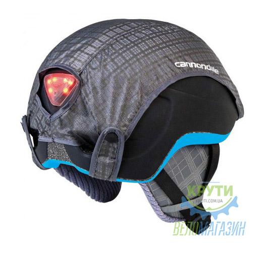 Комплект на шлем Cannondale Utility (уши/LEDсвет/дождевик)