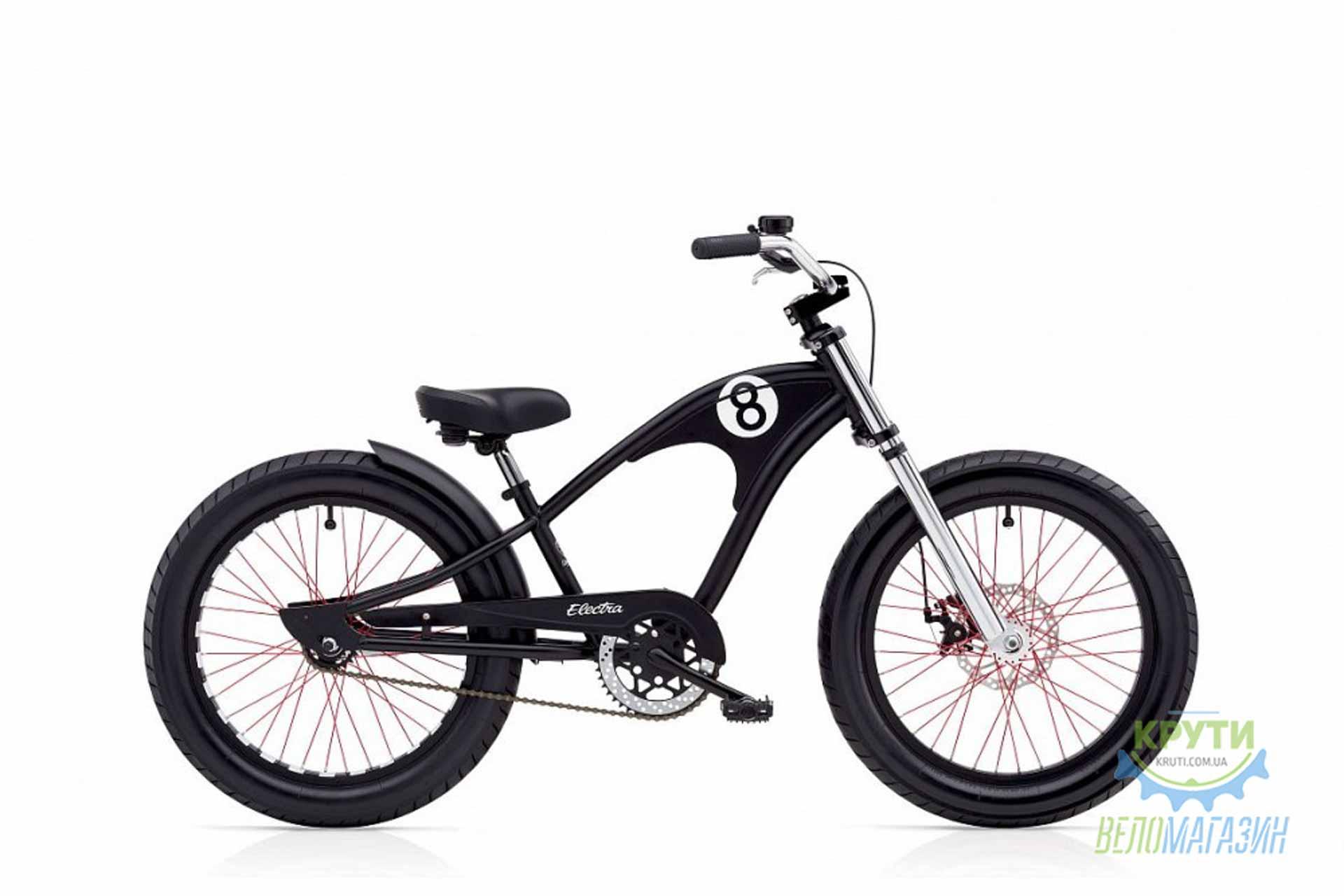 Велосипед 20 Electra Straight 8 1 boys Matte black