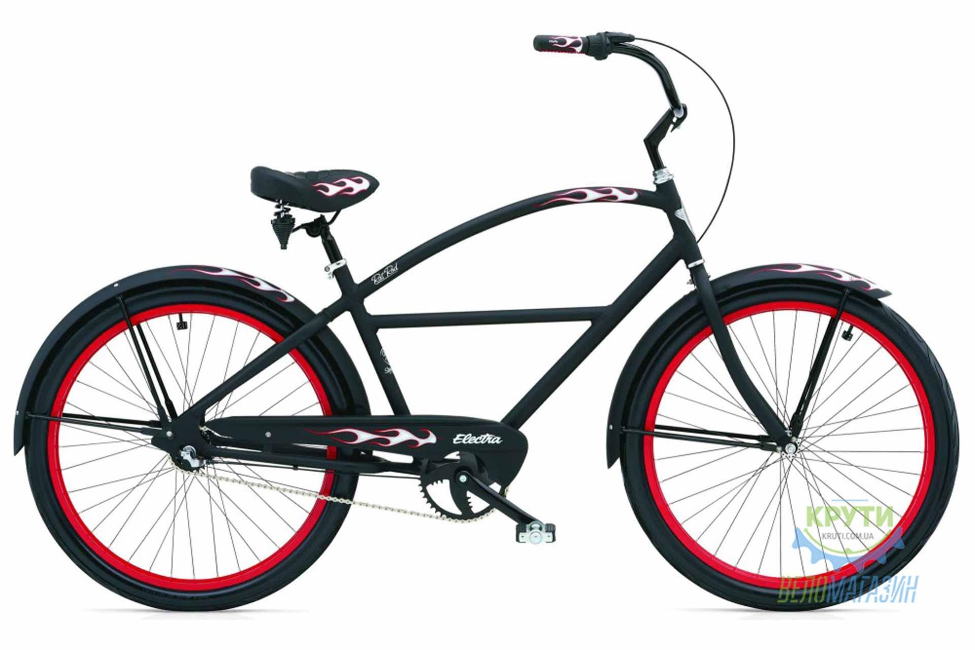 Велосипед 26 ELECTRA RatRod 3i Men's (Алюм) Matte Black