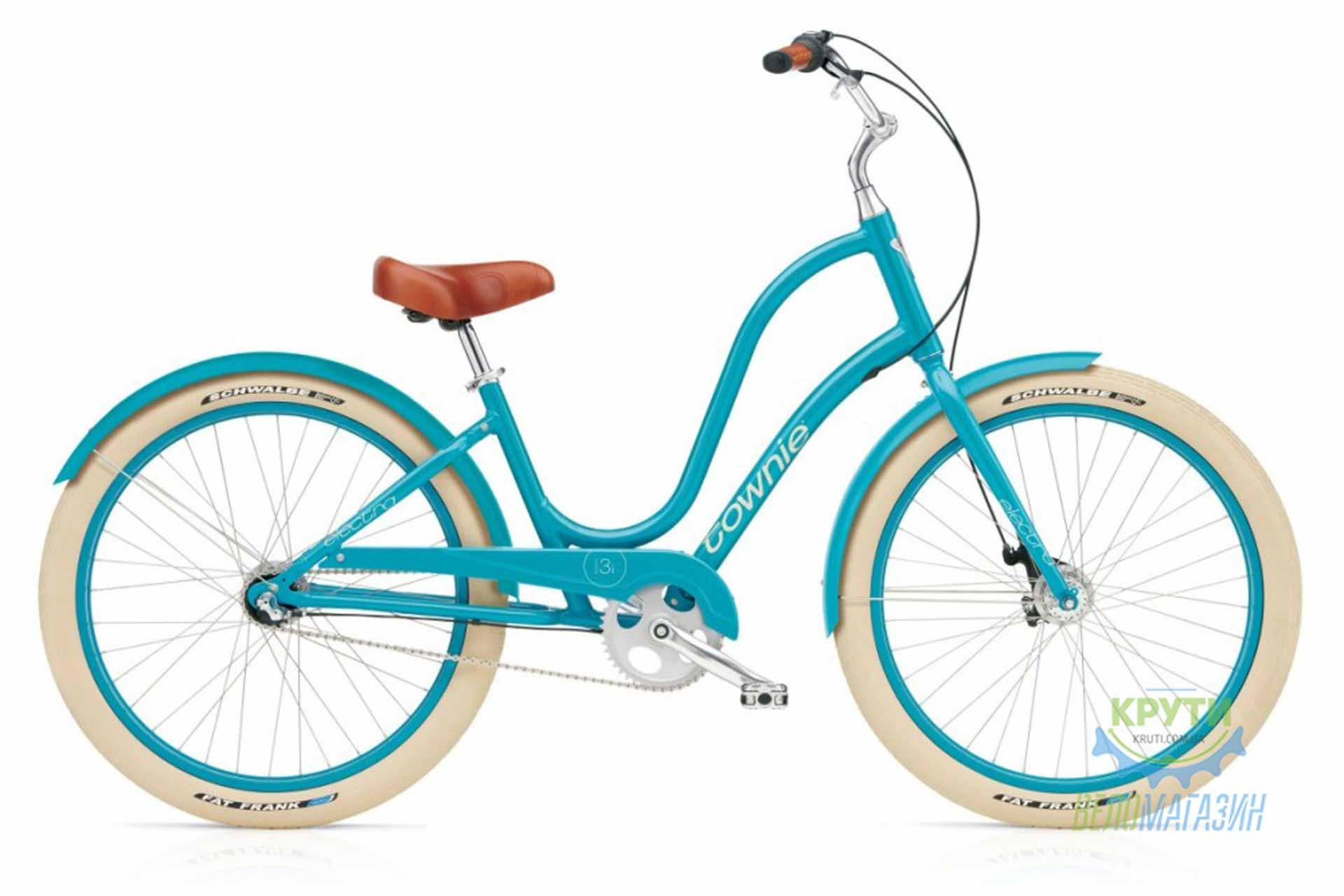 Велосипед 26 ELECTRA Townie Balloon 3i Ladies Azure